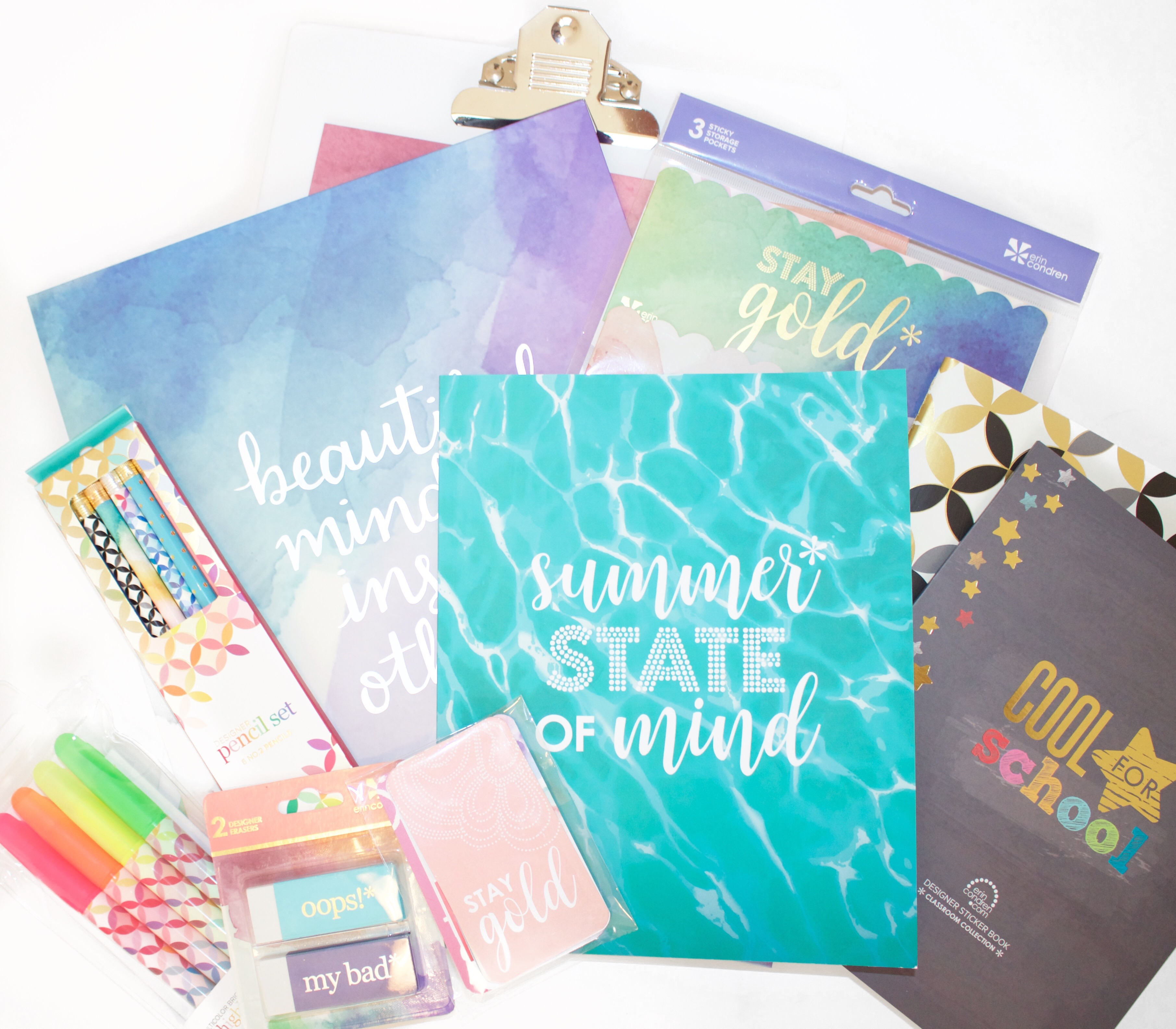 erin condren back to school : My Styled Life