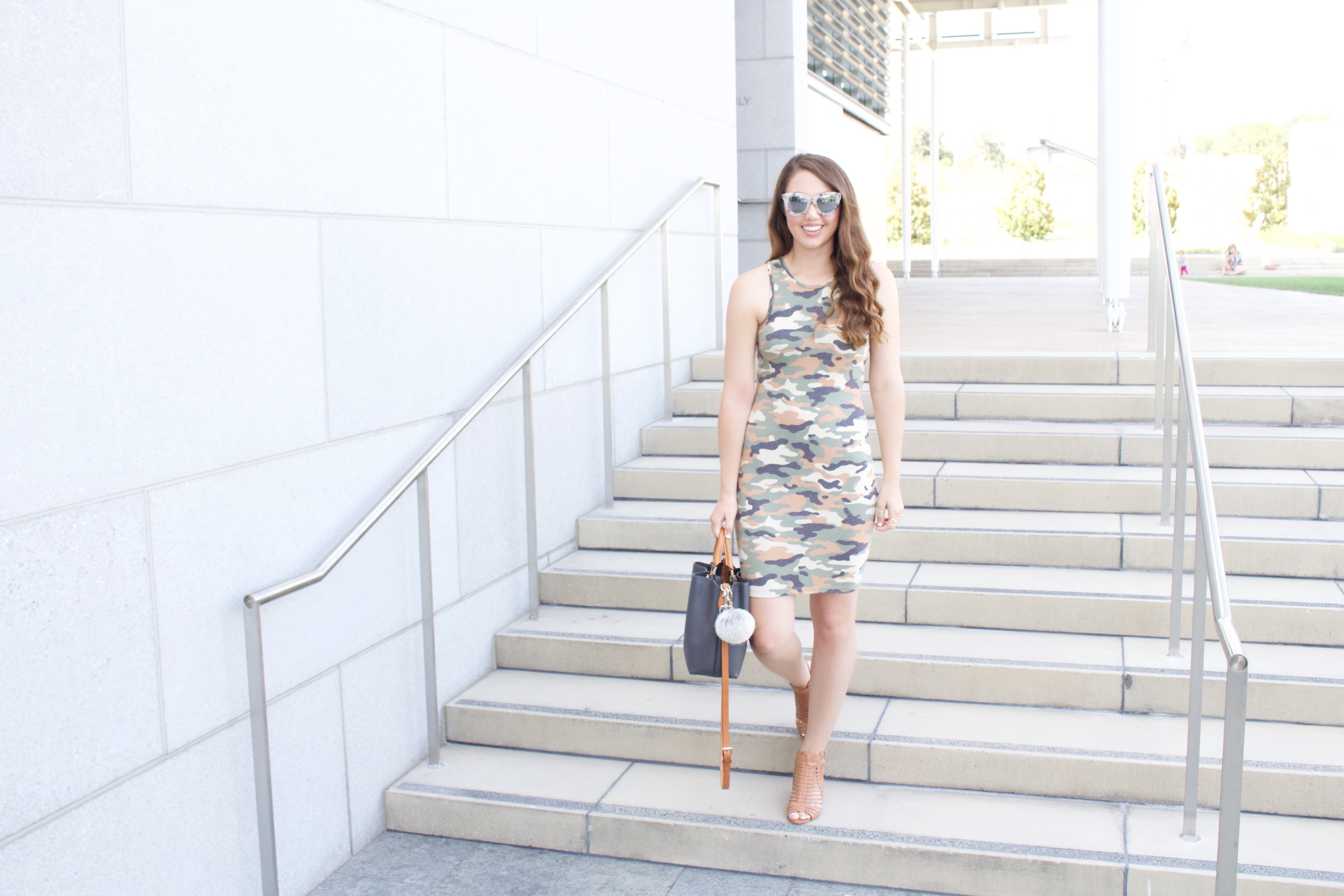 Forever 21 Camo Bodycon Dress - My Styled Life