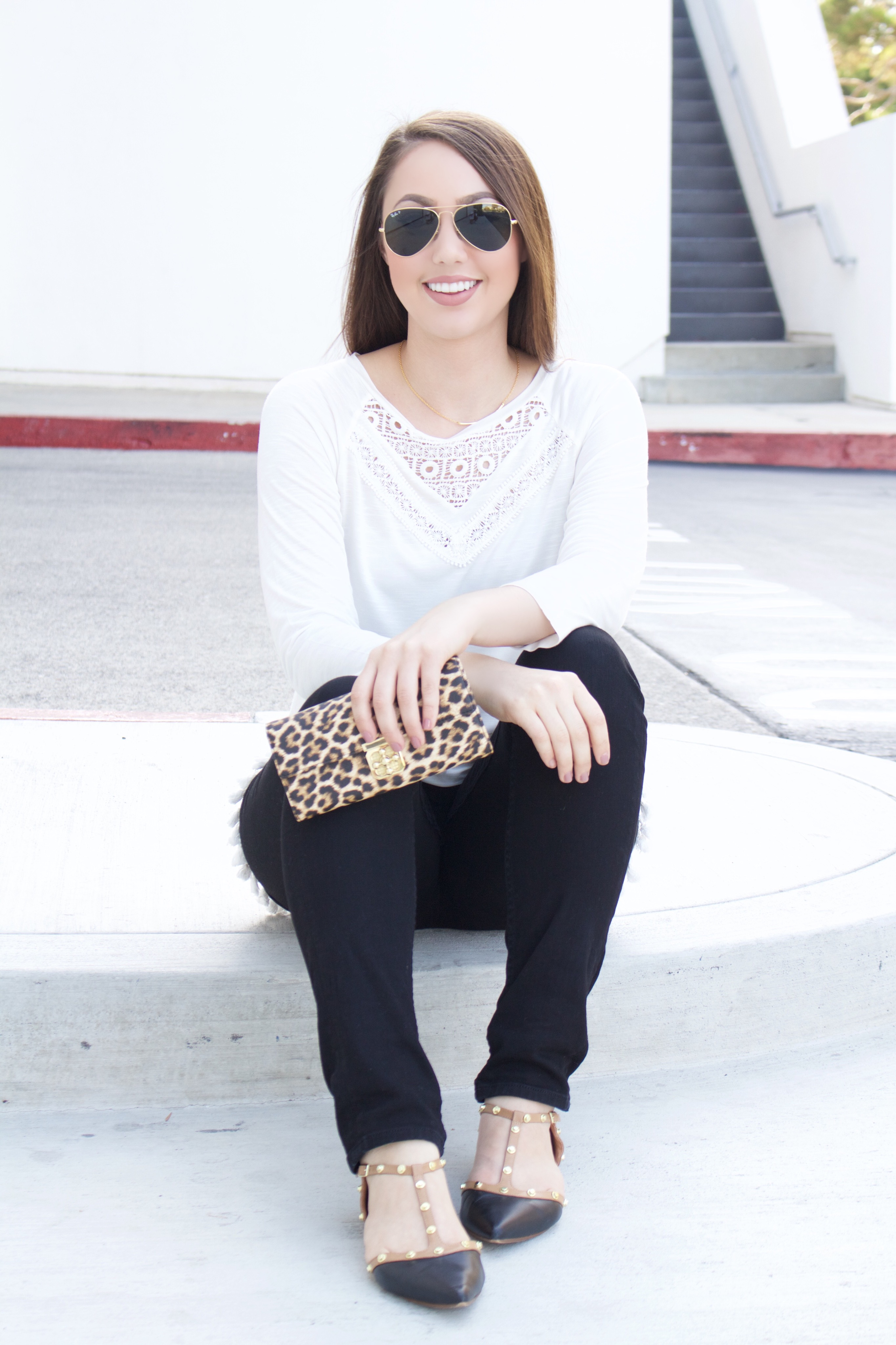 Charming Charlie Leopard Clutch - My Styled Life