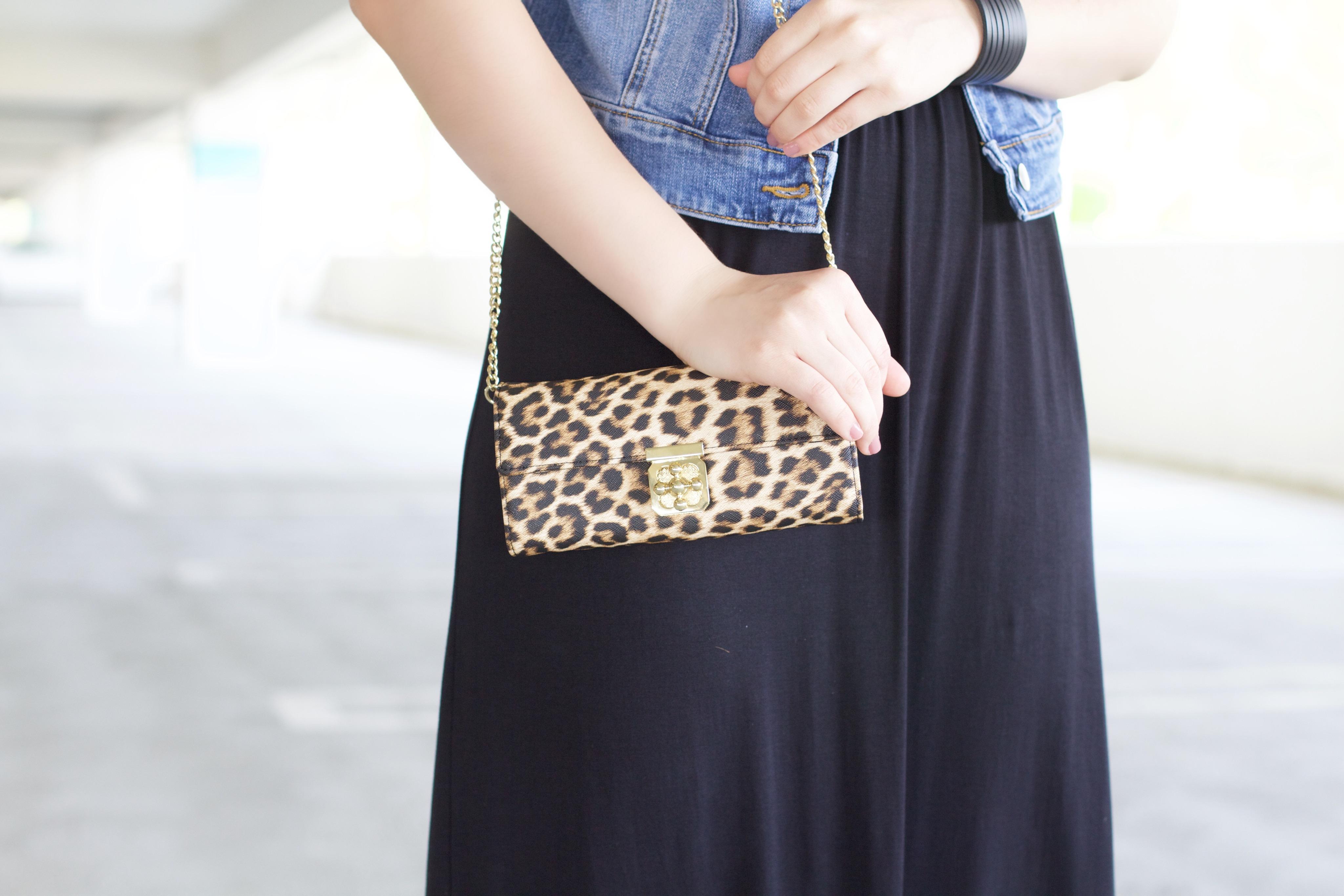 Leopard Crossbody Clutch - My Styled Life