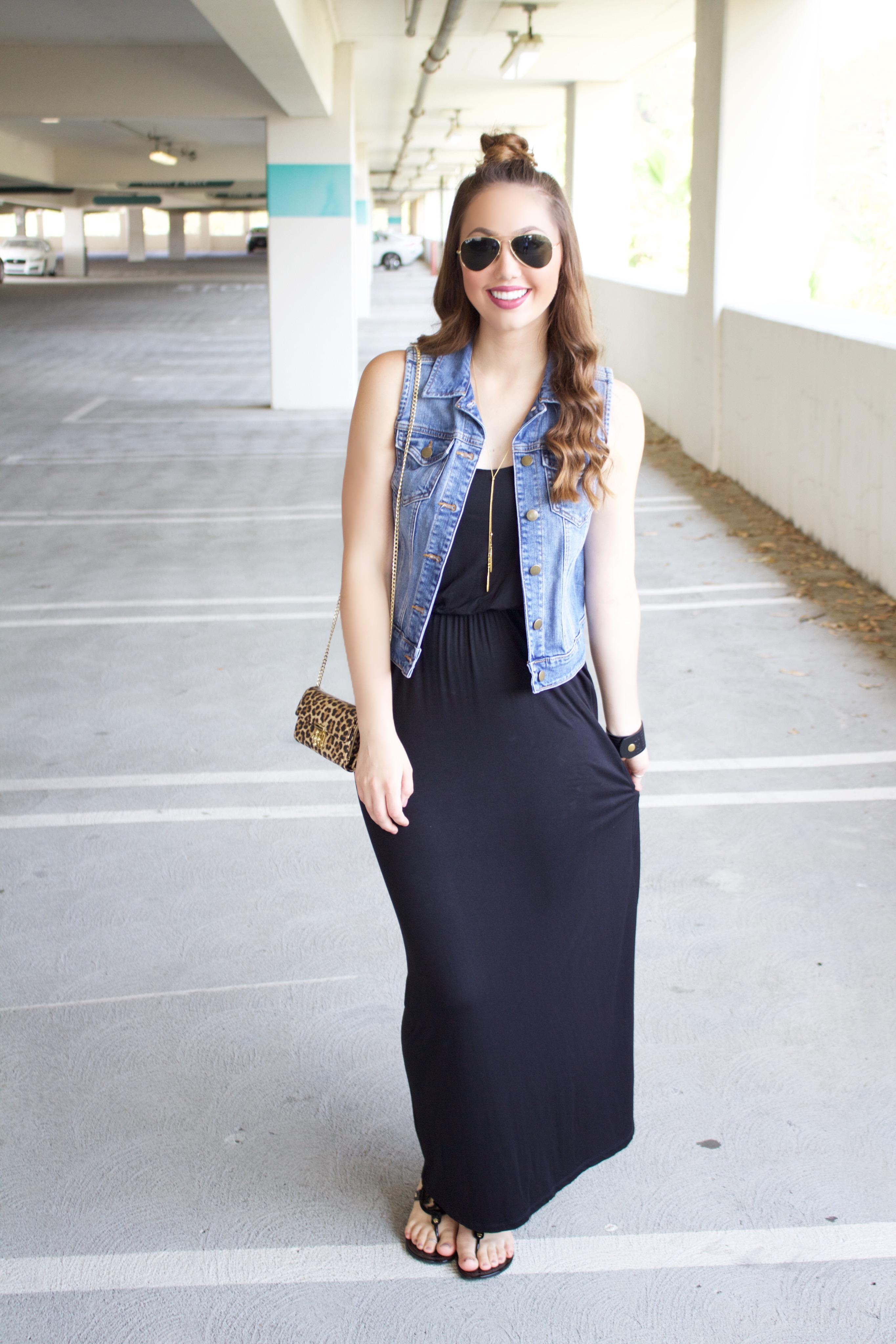 Black Maxi Dress - My Styled Life