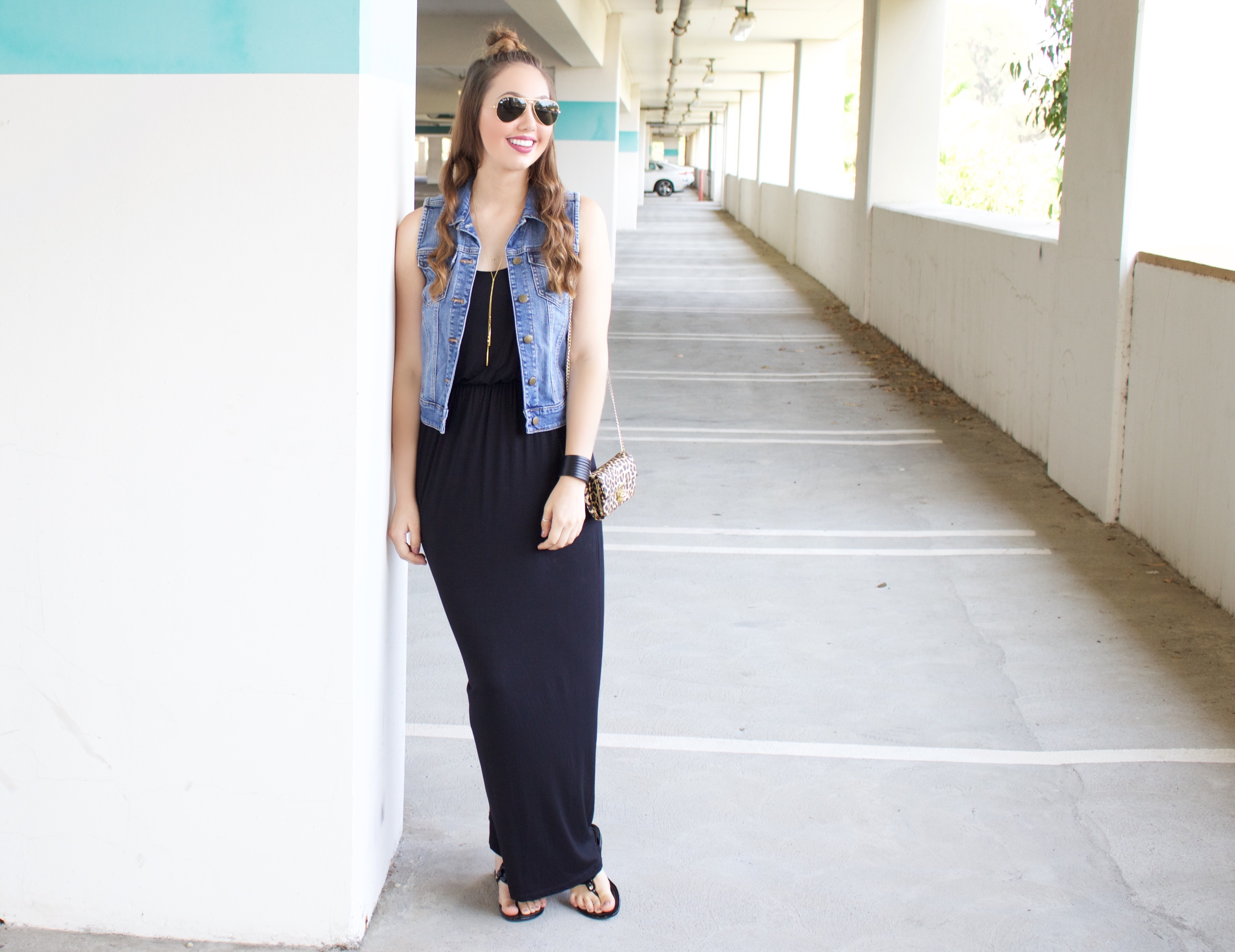 How to Style a Maxi Dress - My Styled LifeA