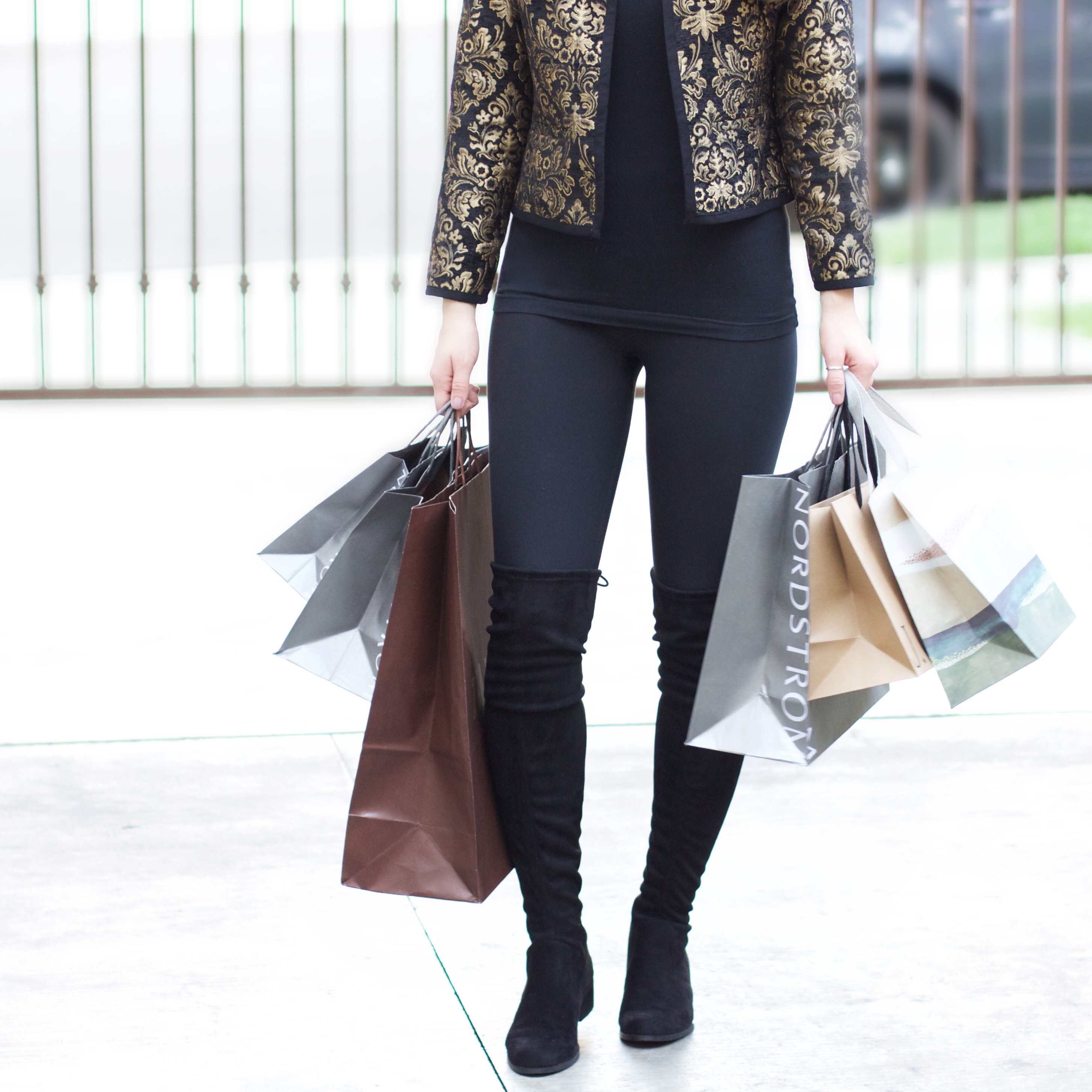 black suede over the knee boots with tie under $100