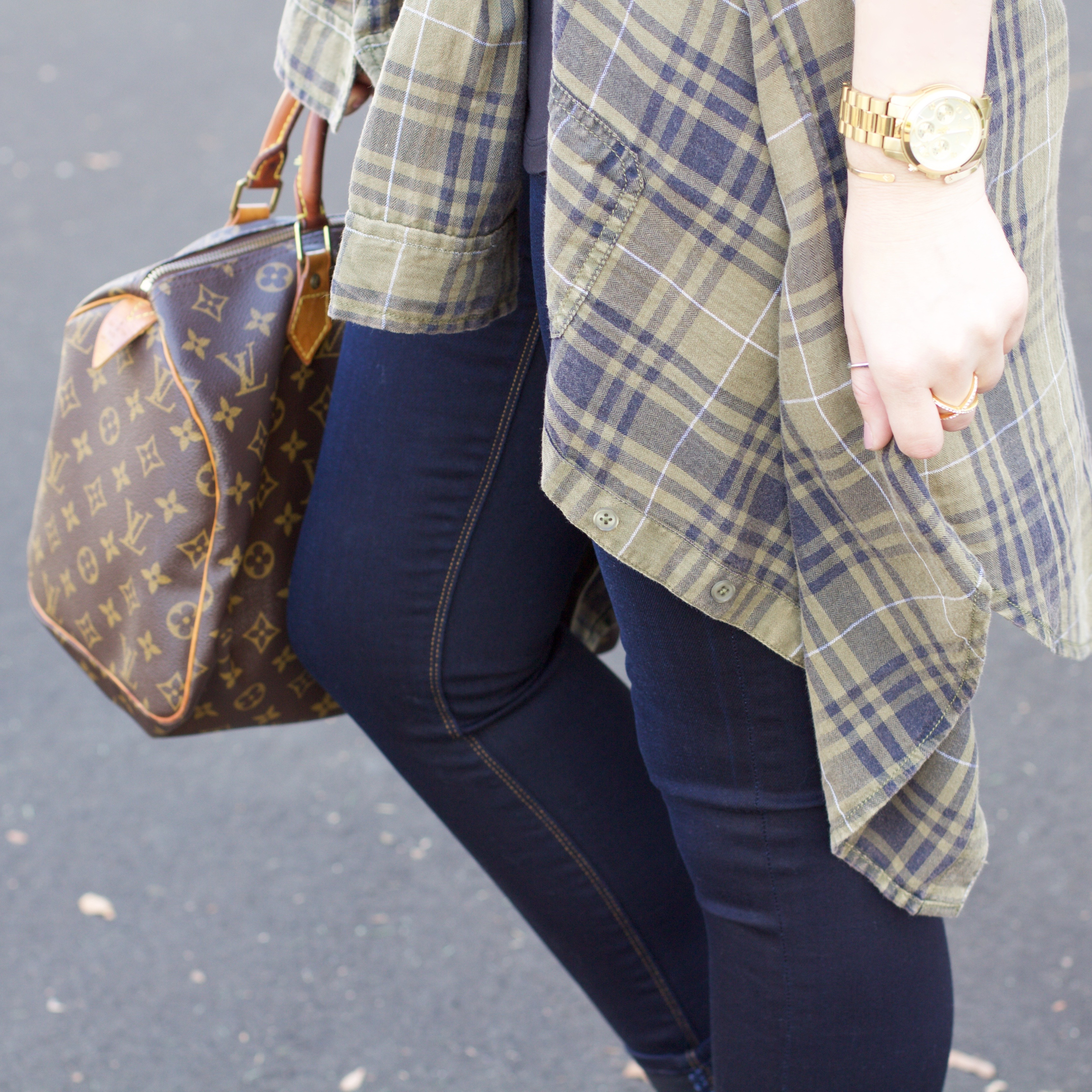 Nordstrom BP flannel - My Styled Life