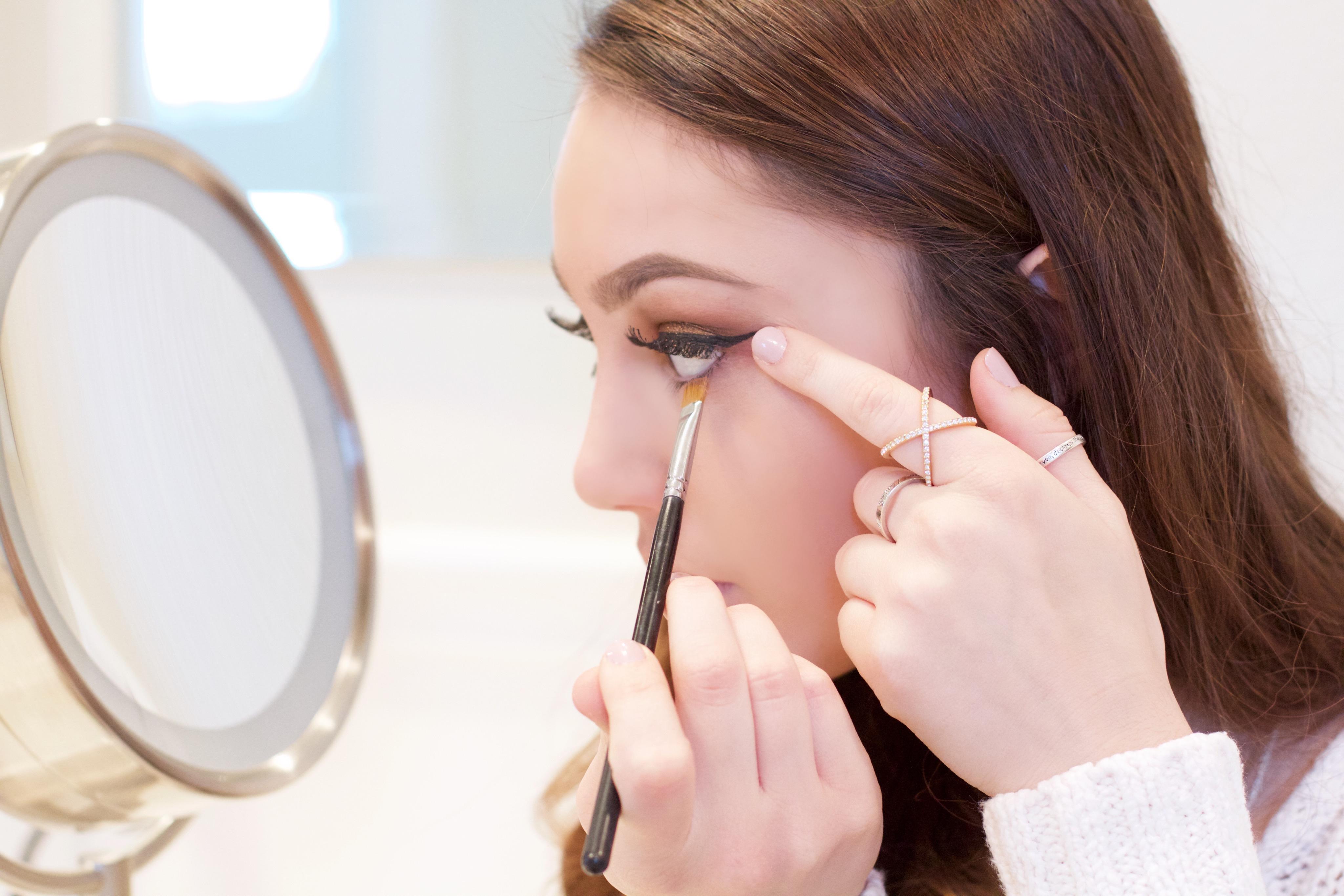 Christmas makeup tutorial 2016