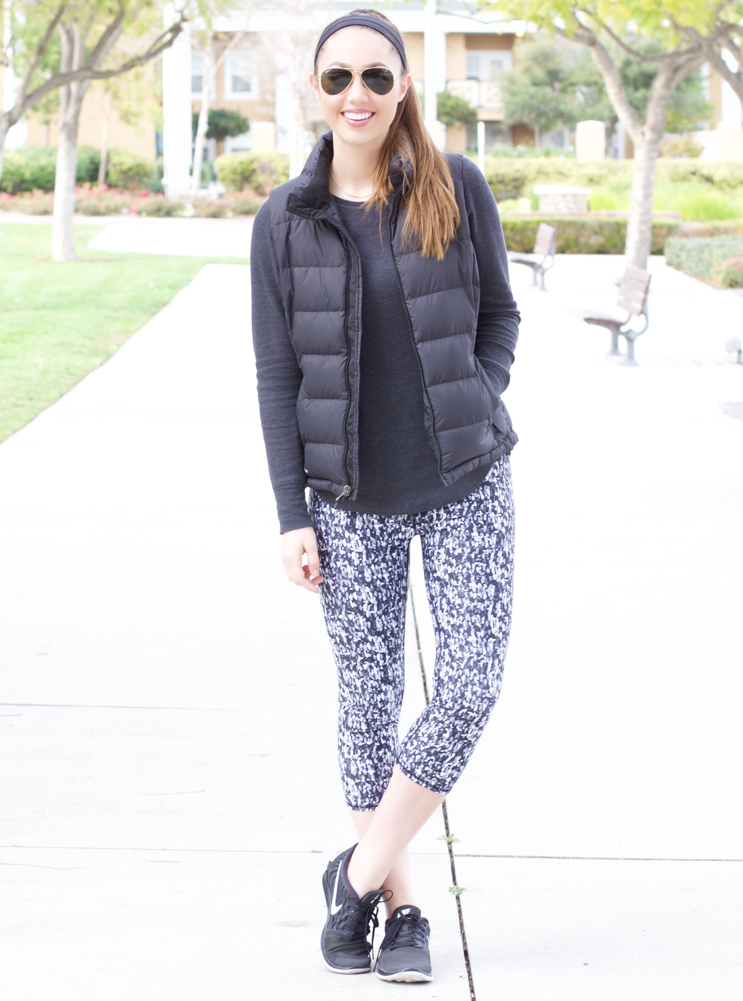 cute women's printed yoga pants