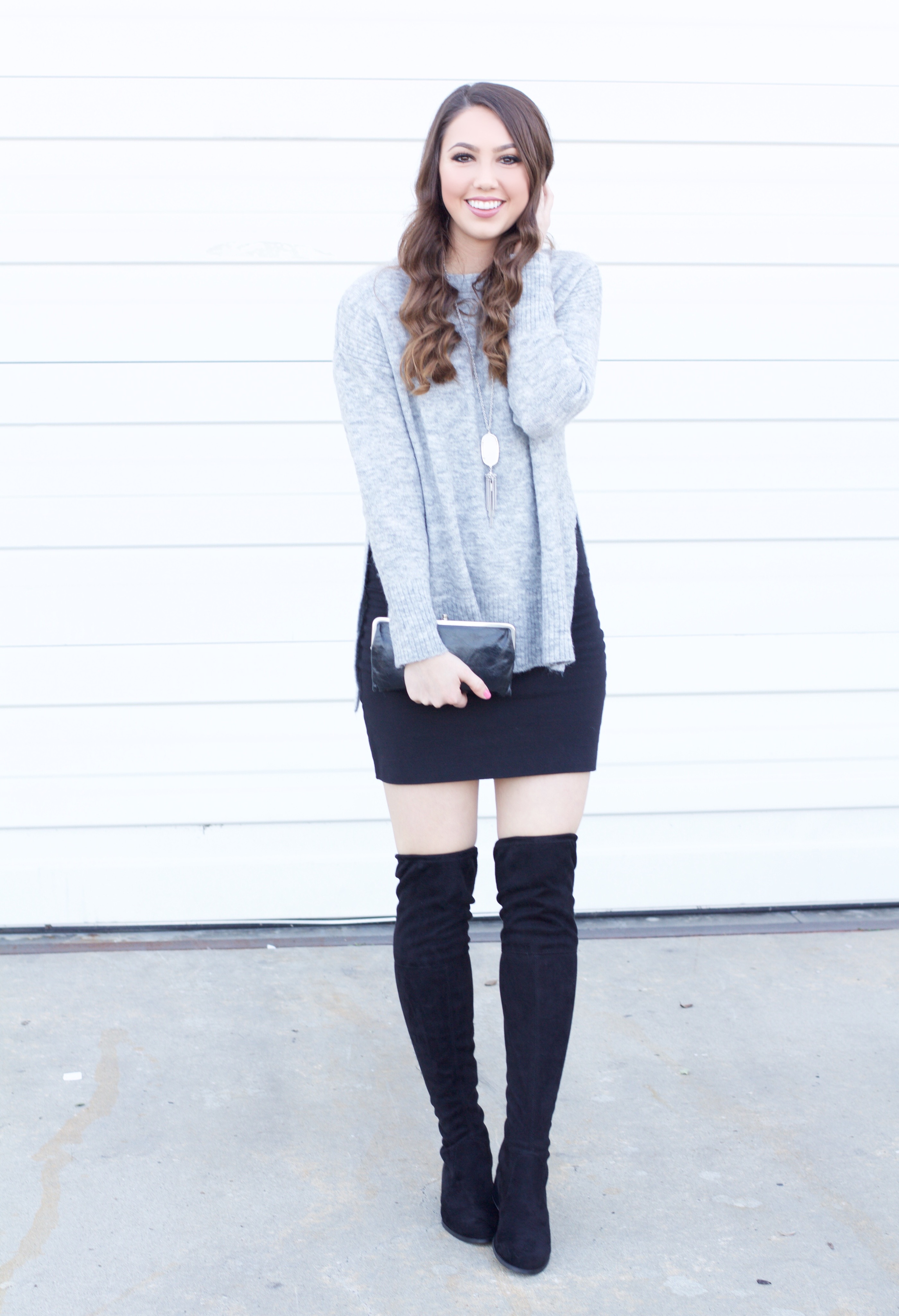over the knee boots outfits