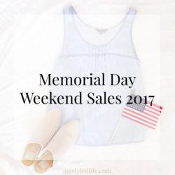Memorial Day Weekend Sales 2017