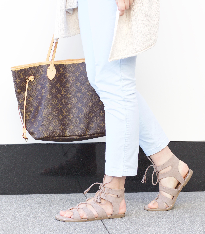 taupe gladiator sandals