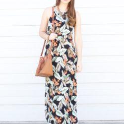 Beat the Back-to-School Blues with a Hawaiian Maxi Dress