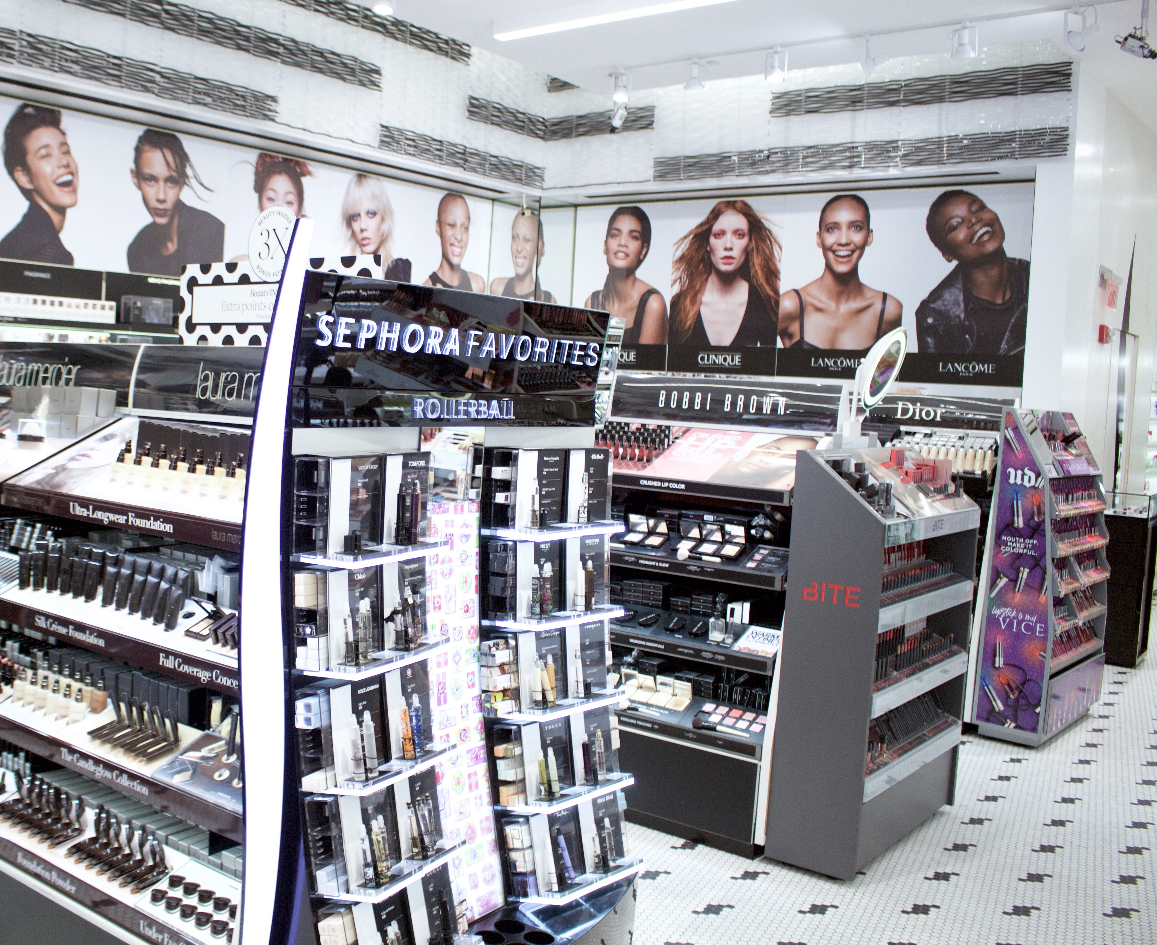 When you go to a Sephora store for a special-event makeover, has the makeup they use touched other people's faces or do they use new applicators, etc?