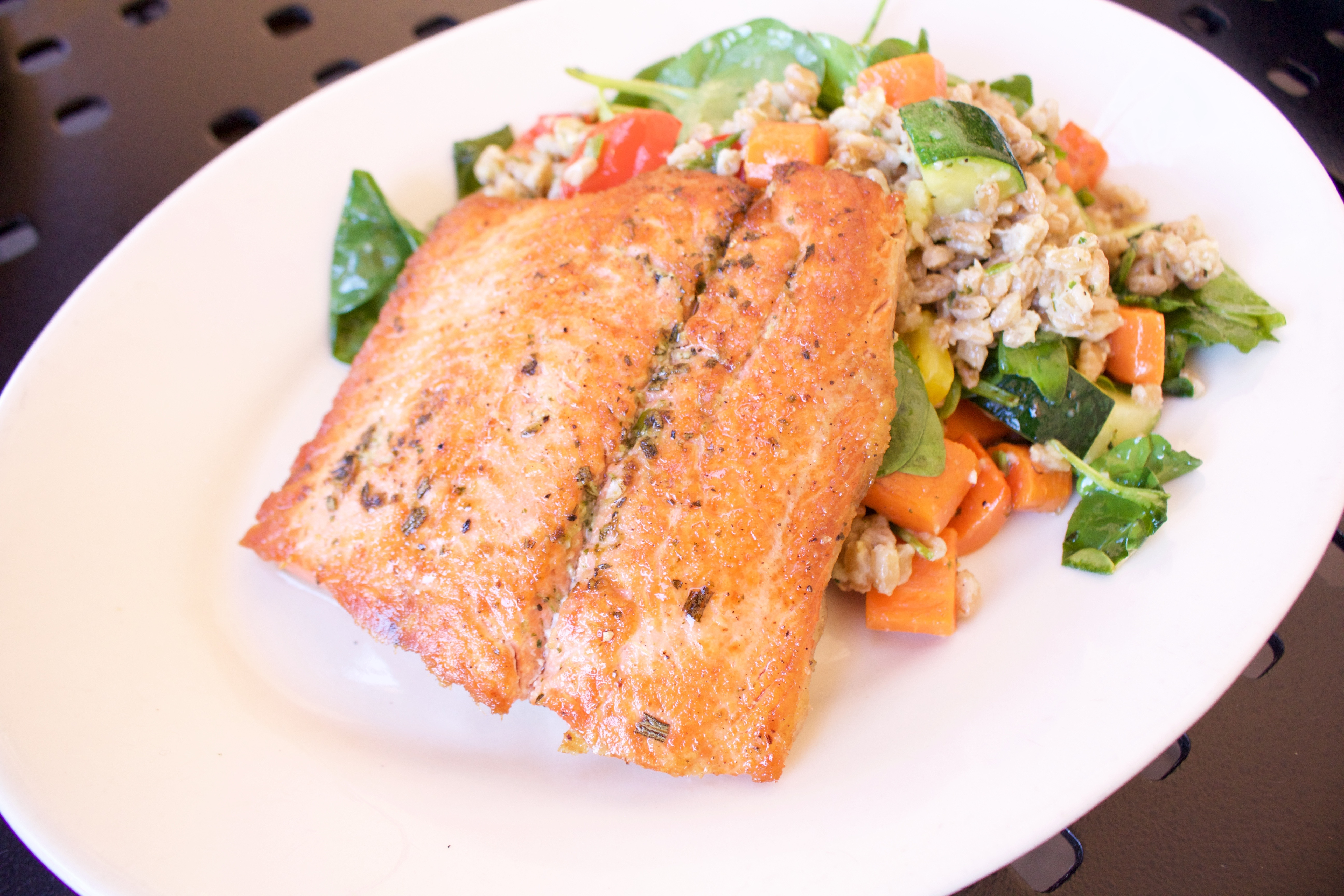 salmon Nordstrom cafe brea mall