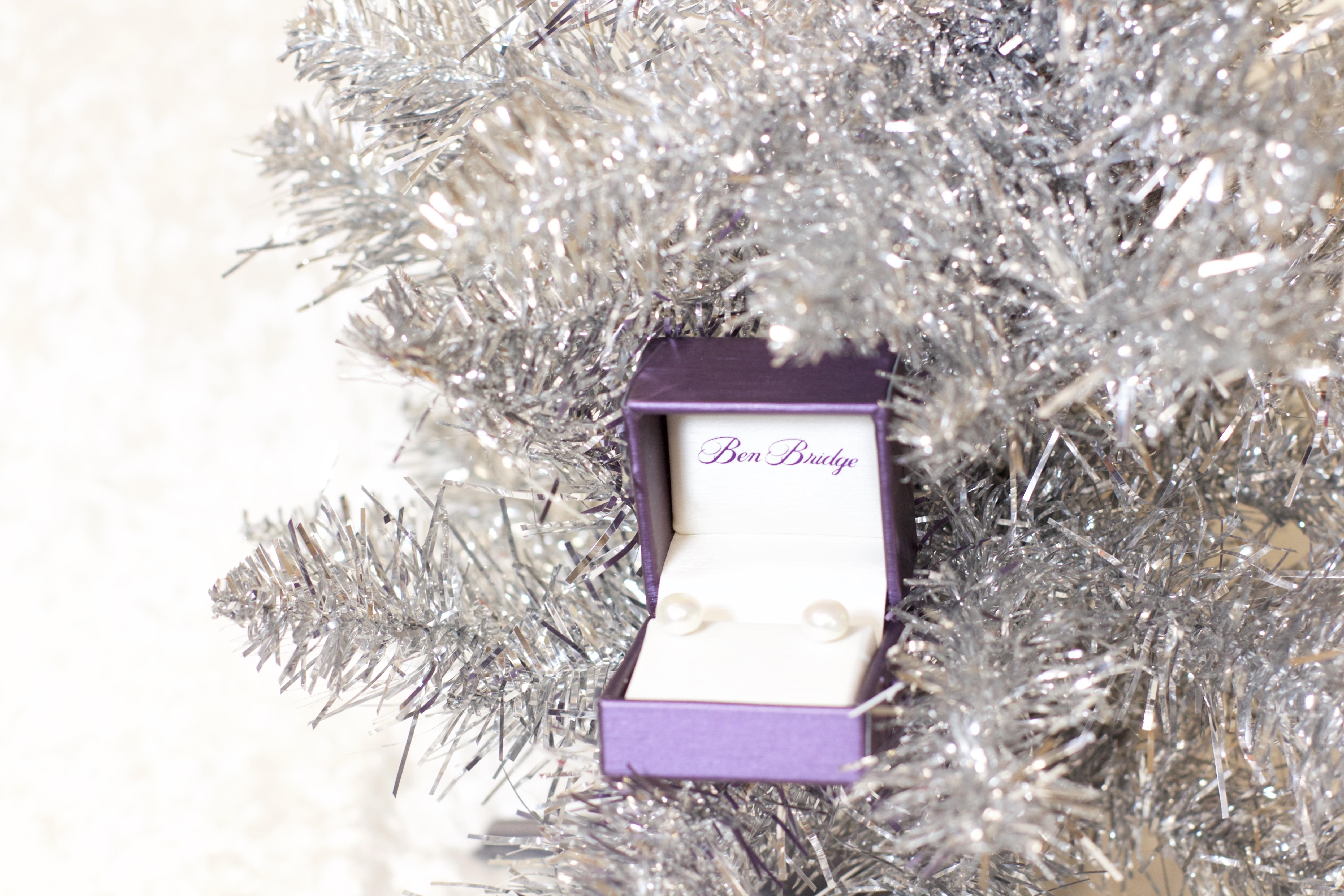 Ben Bridge pearl earrings christmas
