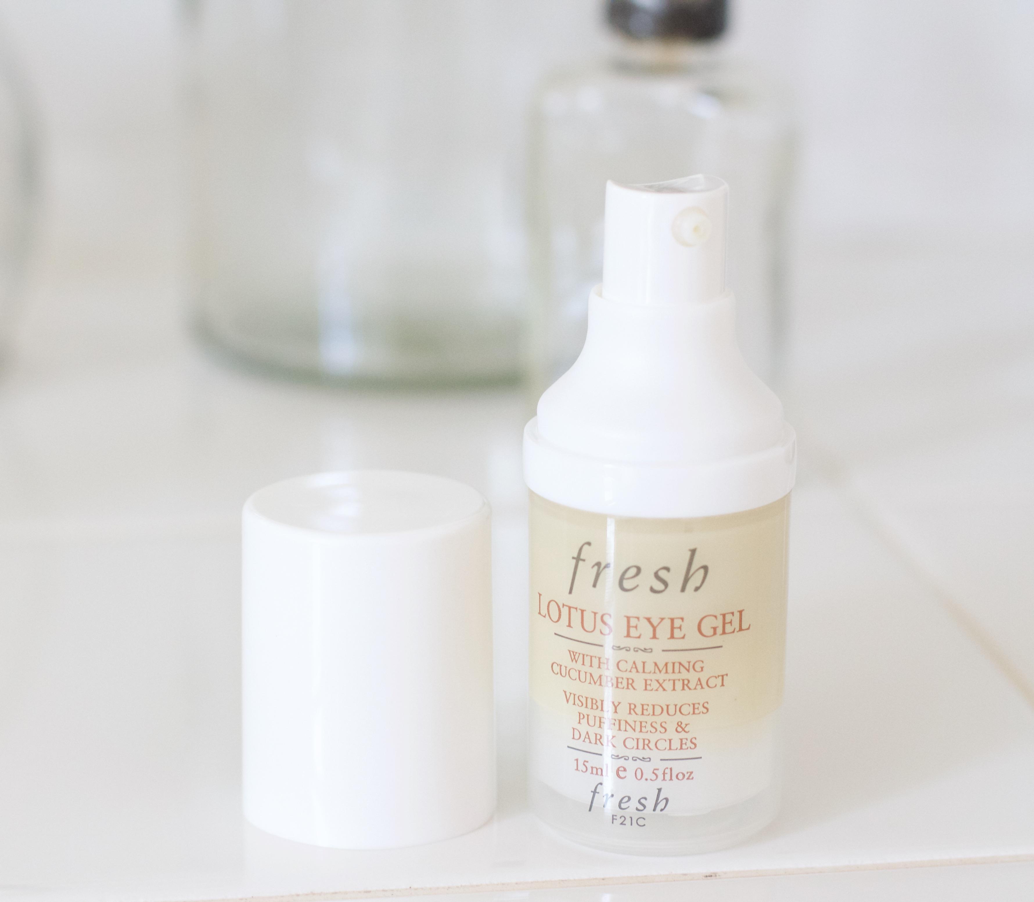 Fresh lotus eye gel review