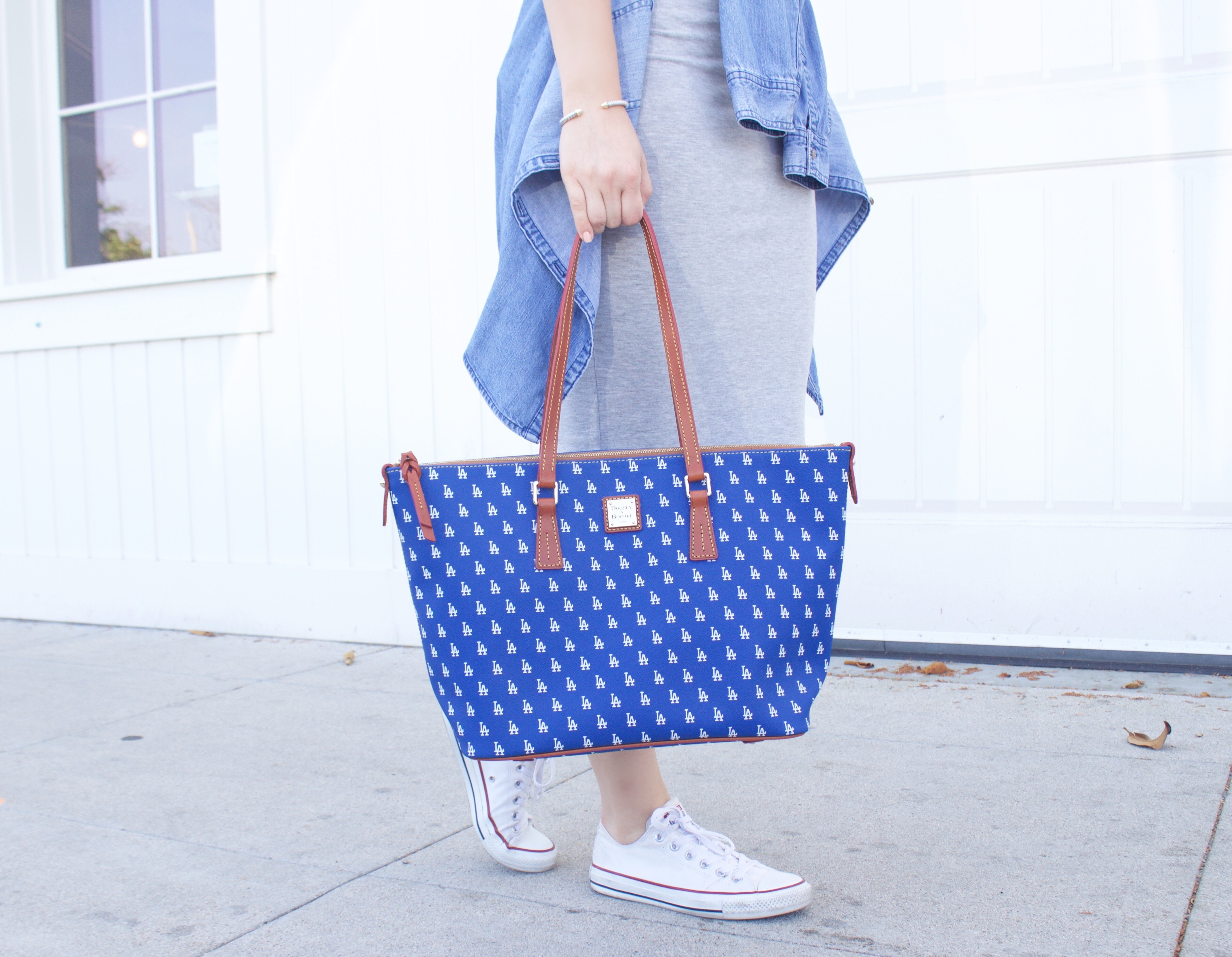 Dodgers purse Dooney & Bourke