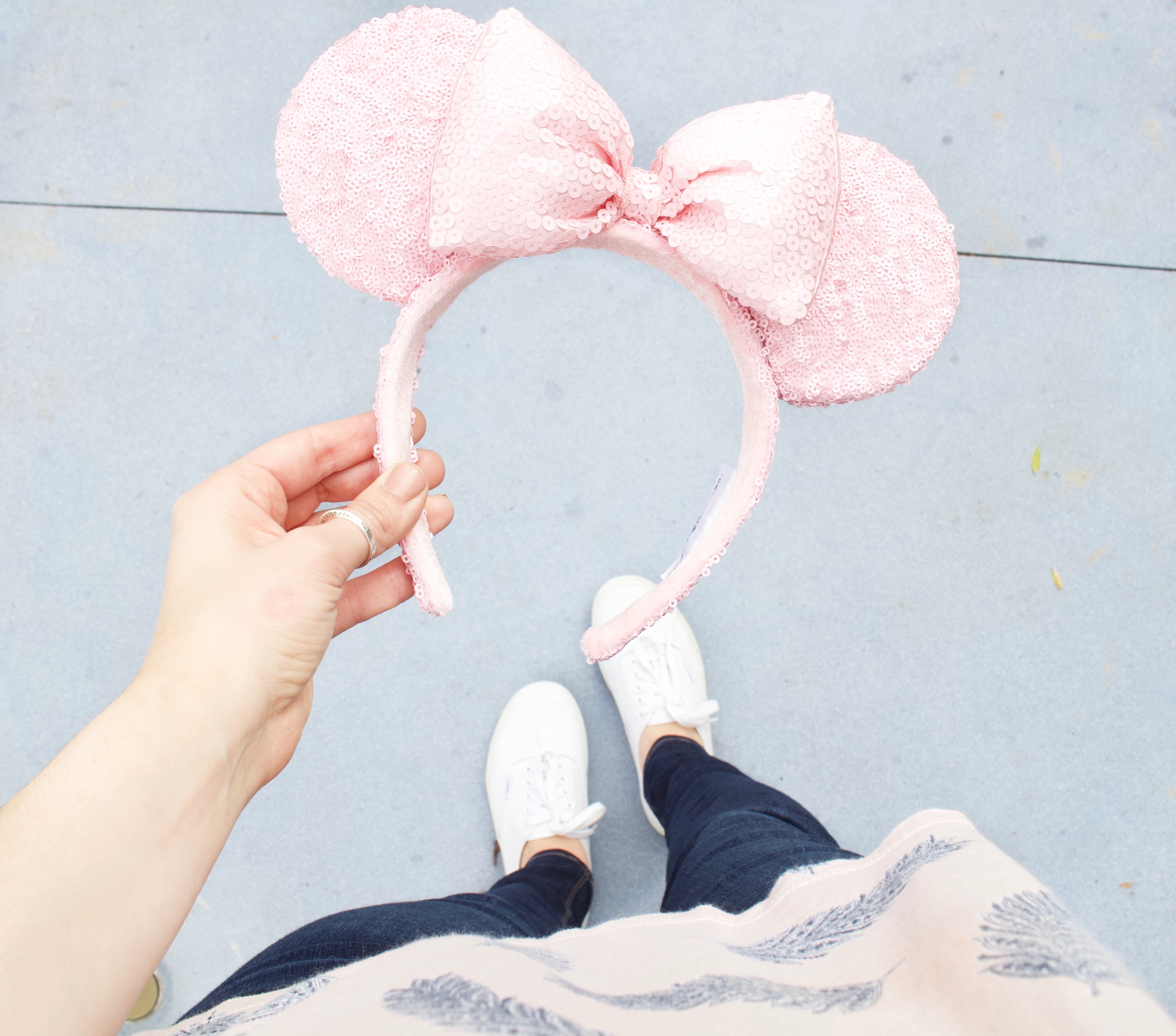 Millennial Pink Minnie Mouse Ears