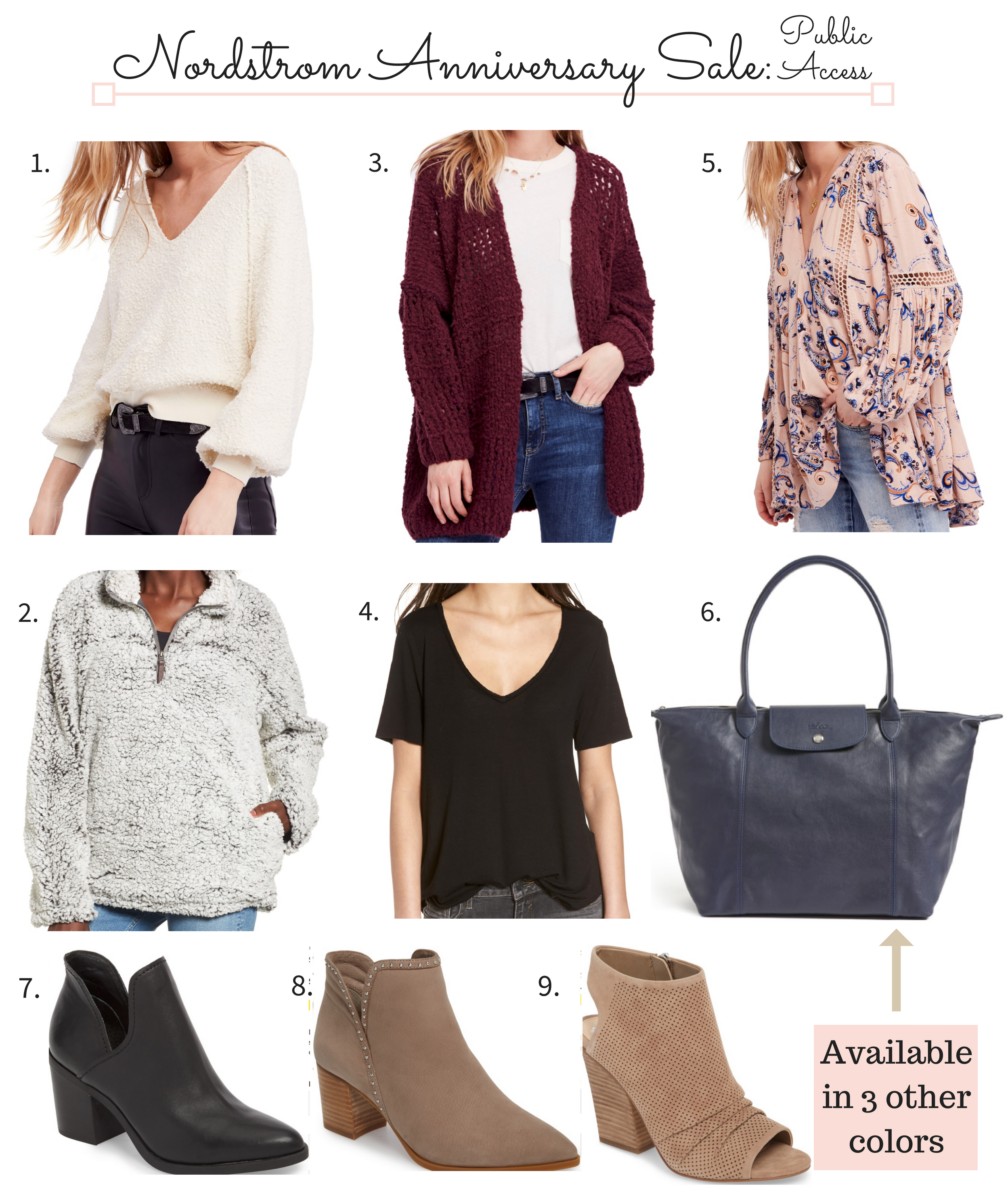 Nordstrom Anniversary Sale 2018 Picks public access