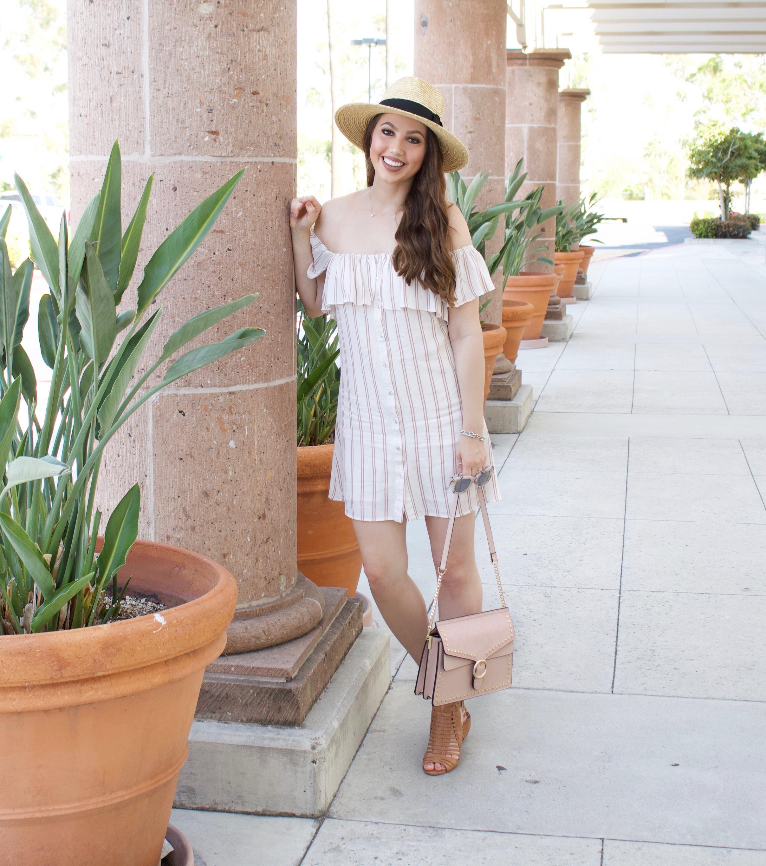 summer brunch outfit idea