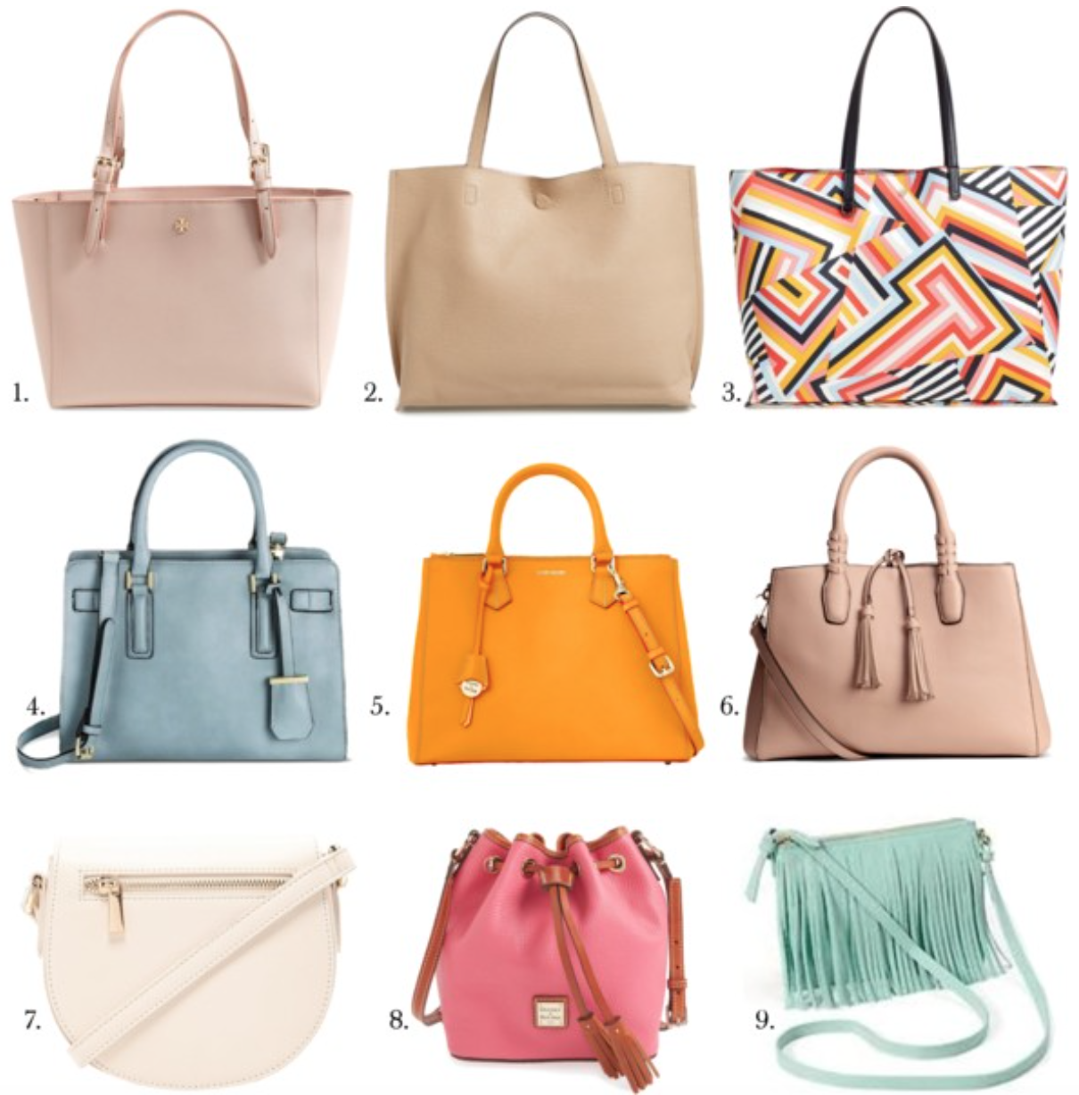 Favorite Spring Purses