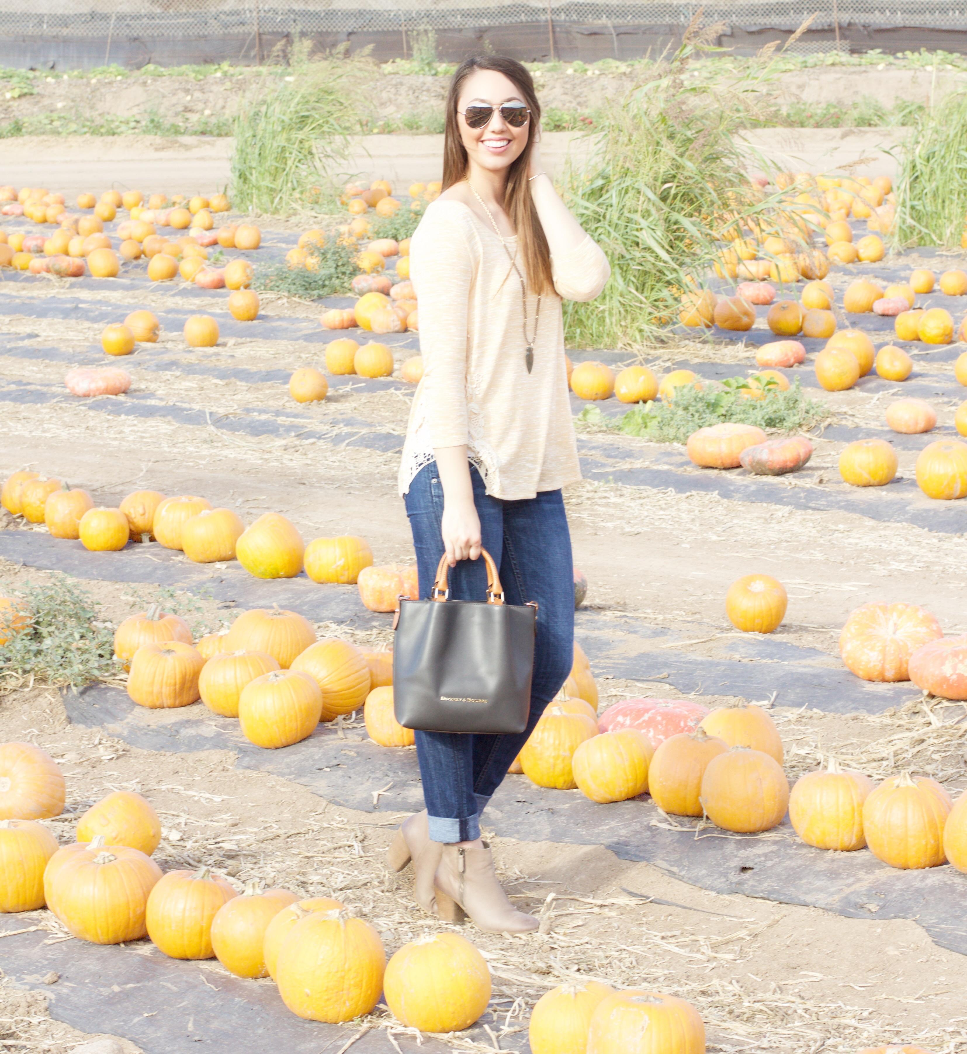 Pumpkin Patch Outfit Idea