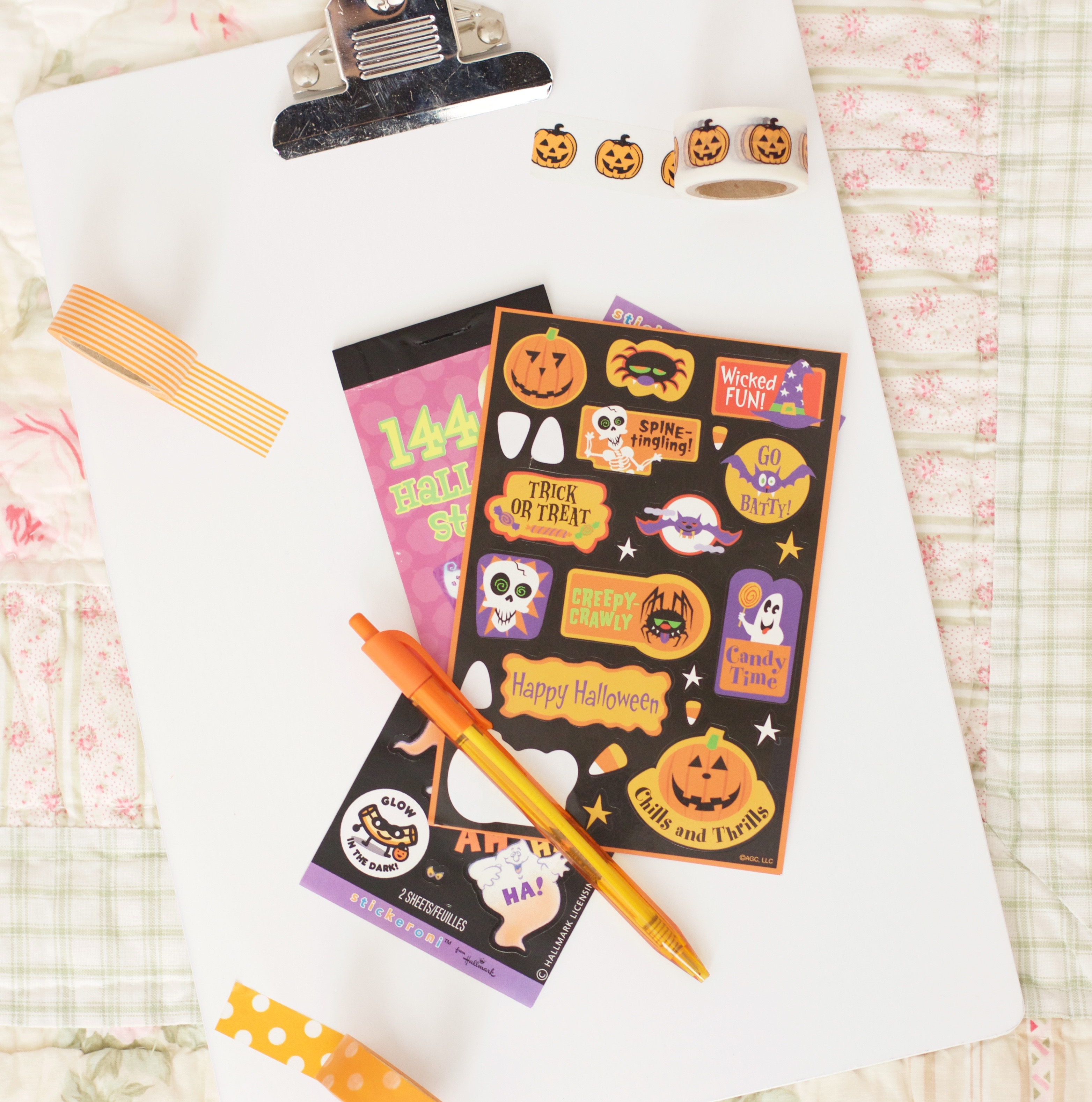 How to Decorate Erin Condren LifePlanner Halloween