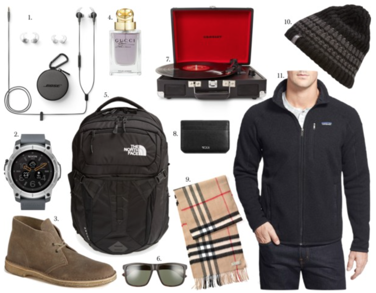 christmas gift guide ideas for him 2016