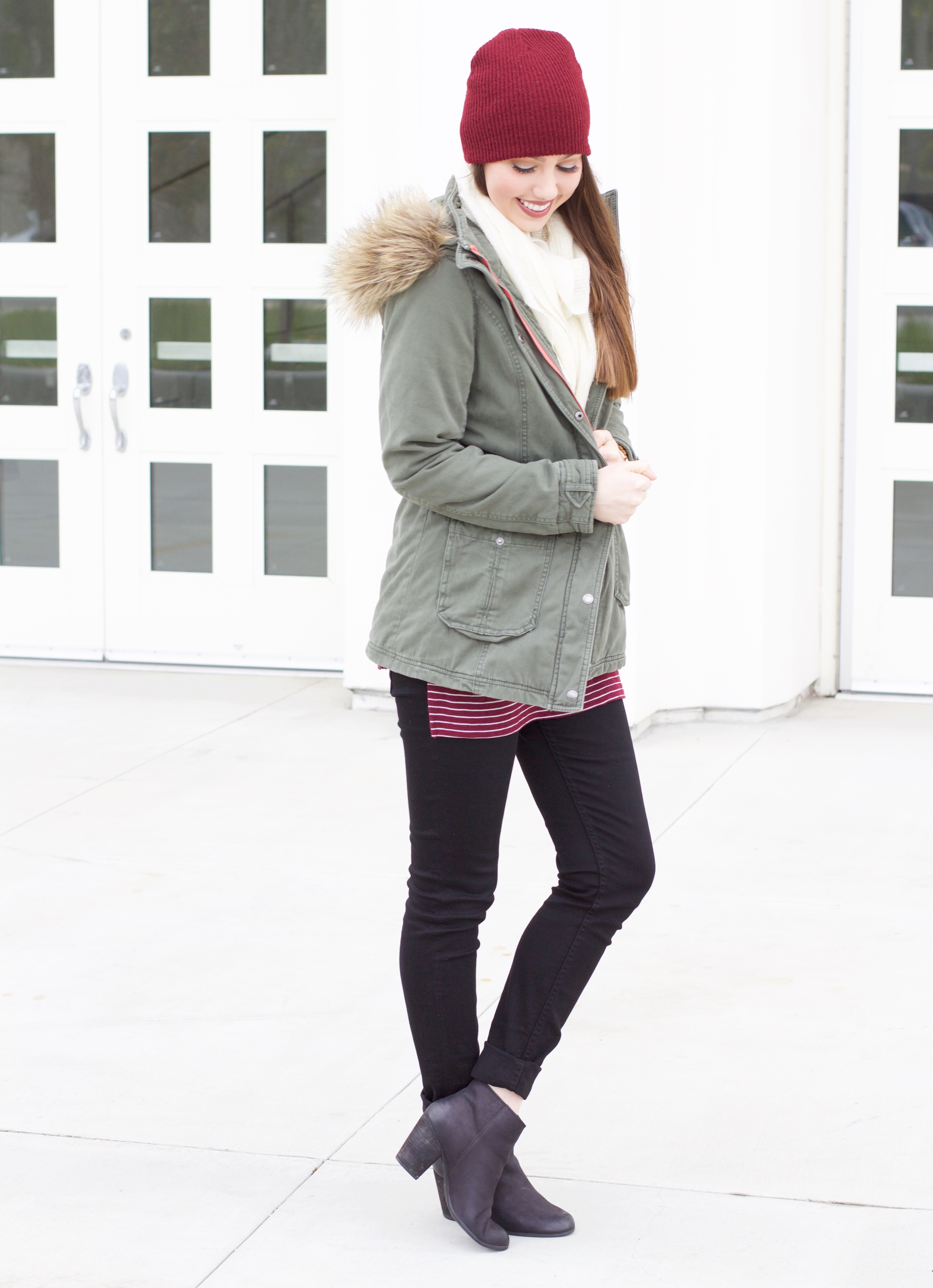cozy winter outfit idea