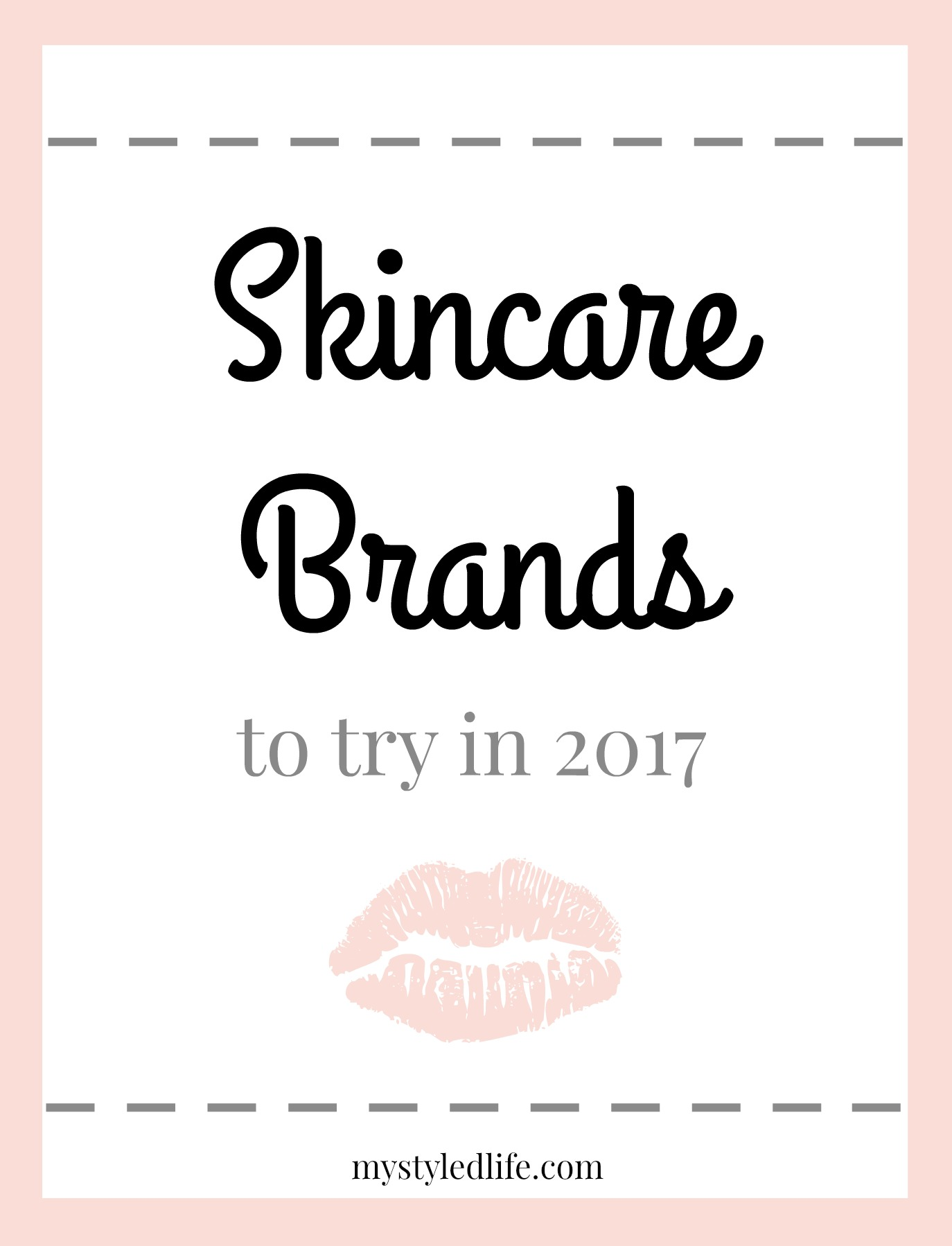 skincare brands / products to try in 2017