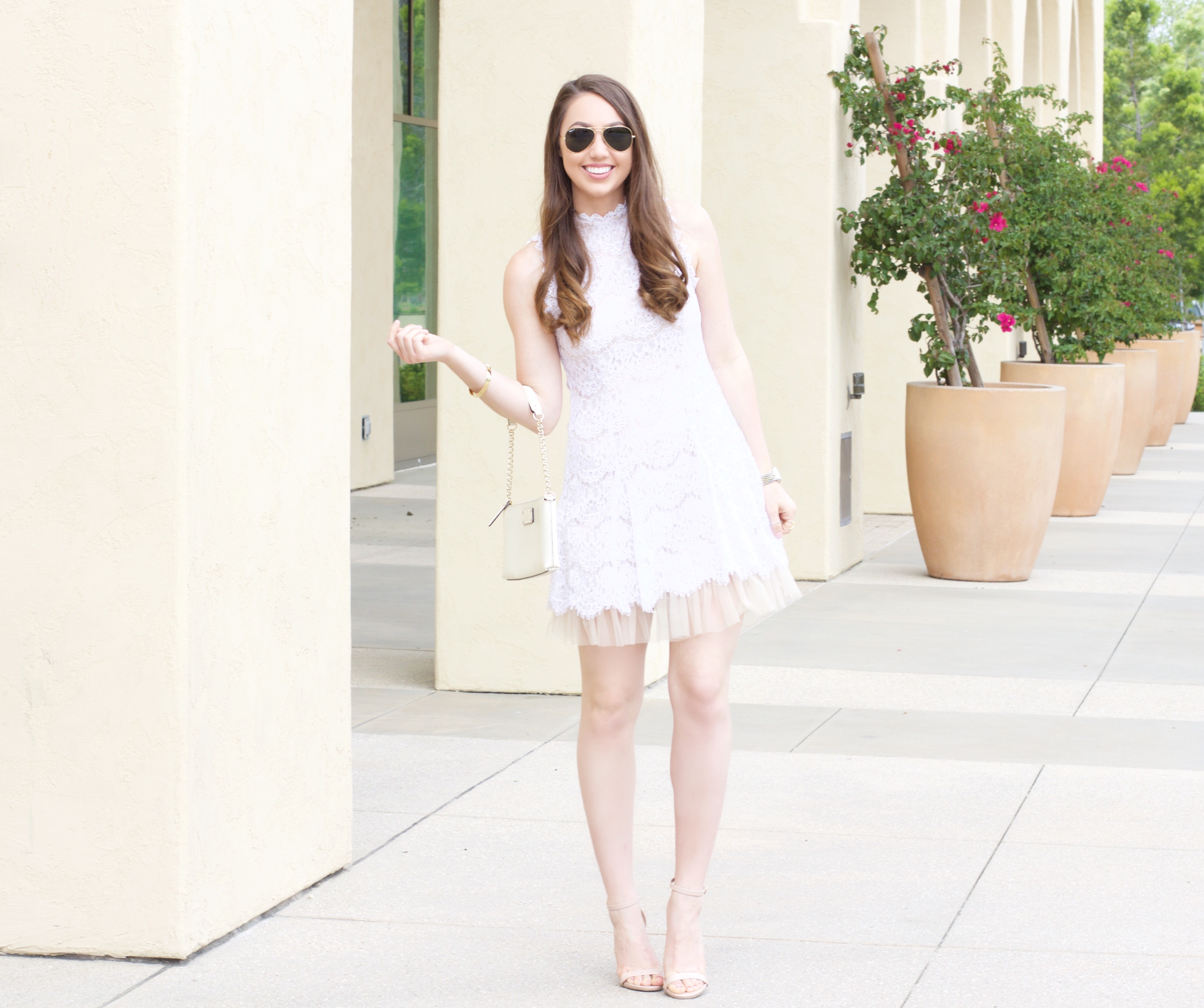 the perfect little white dress (LWD)