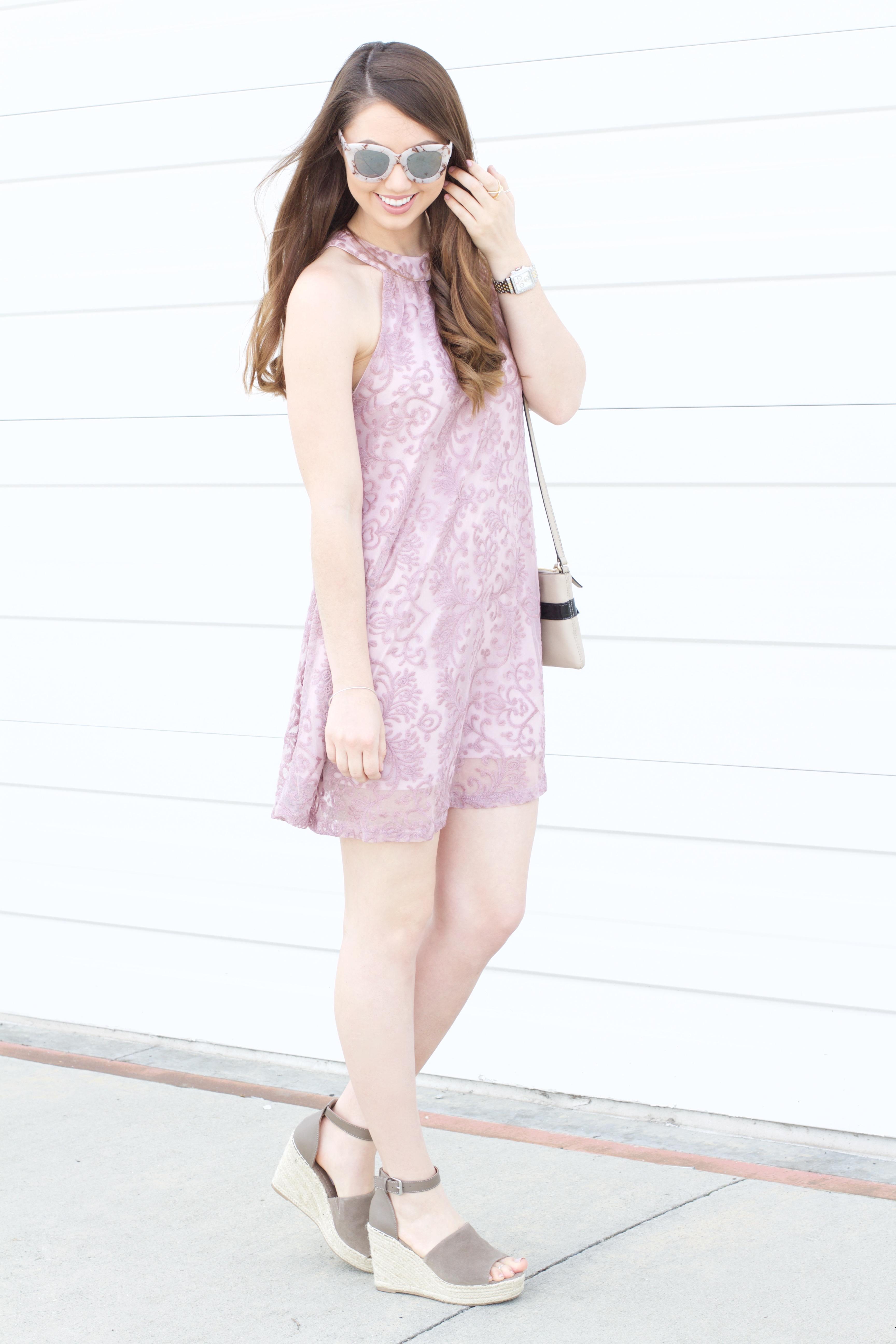 pastel lilac dress womens