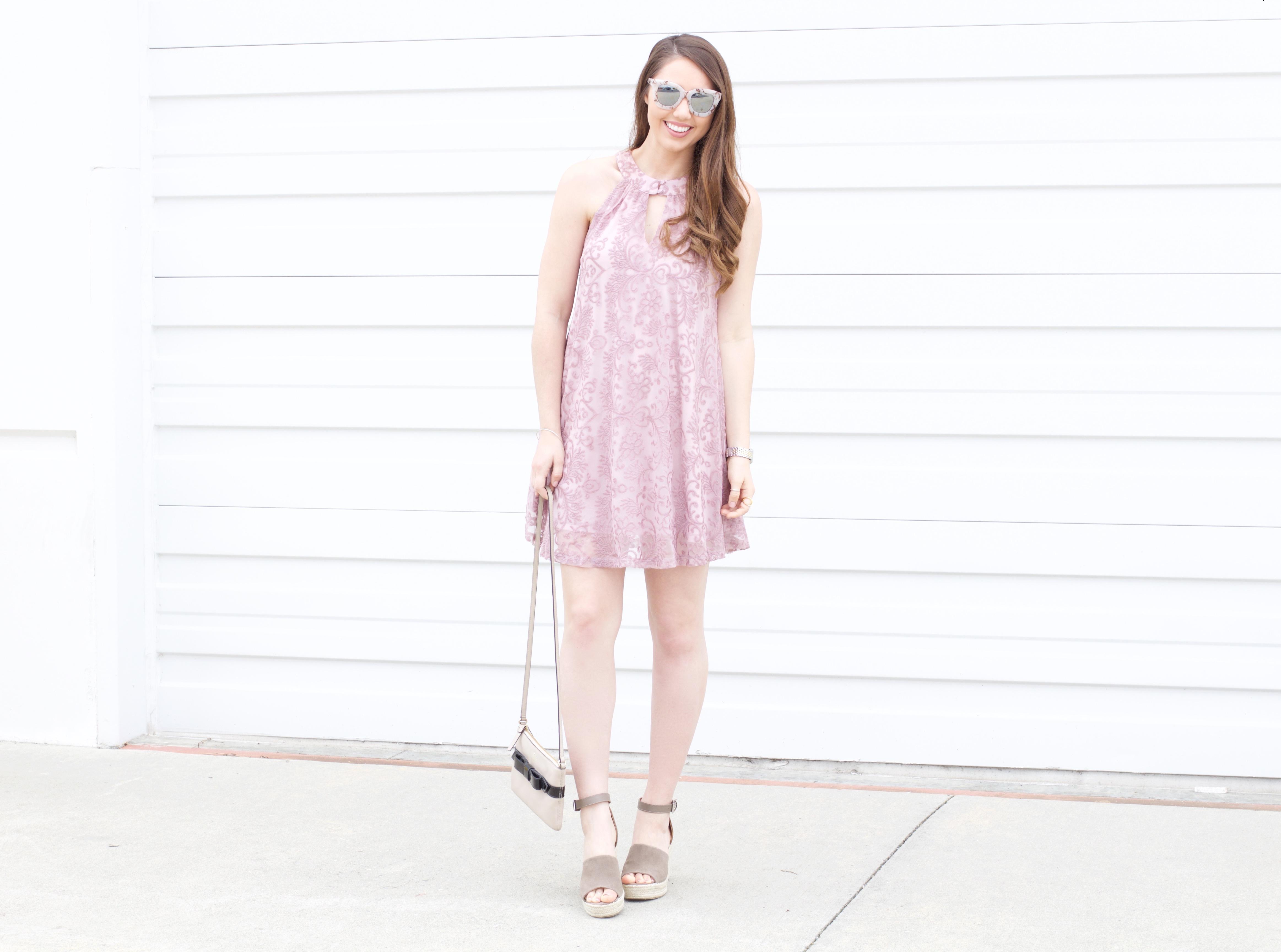 pastel easter dresses - purple