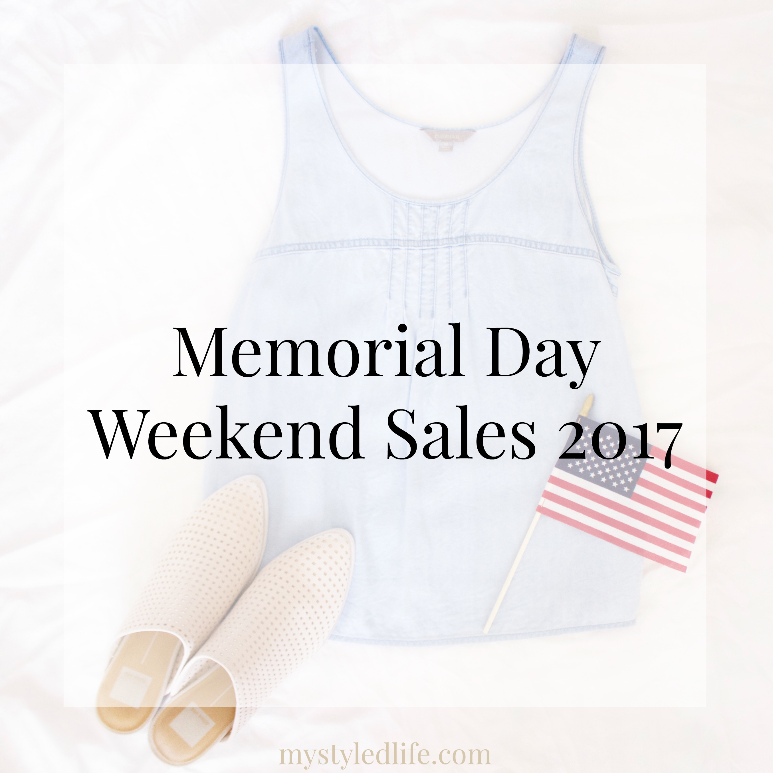Memorial Day Weekend Sales 2017