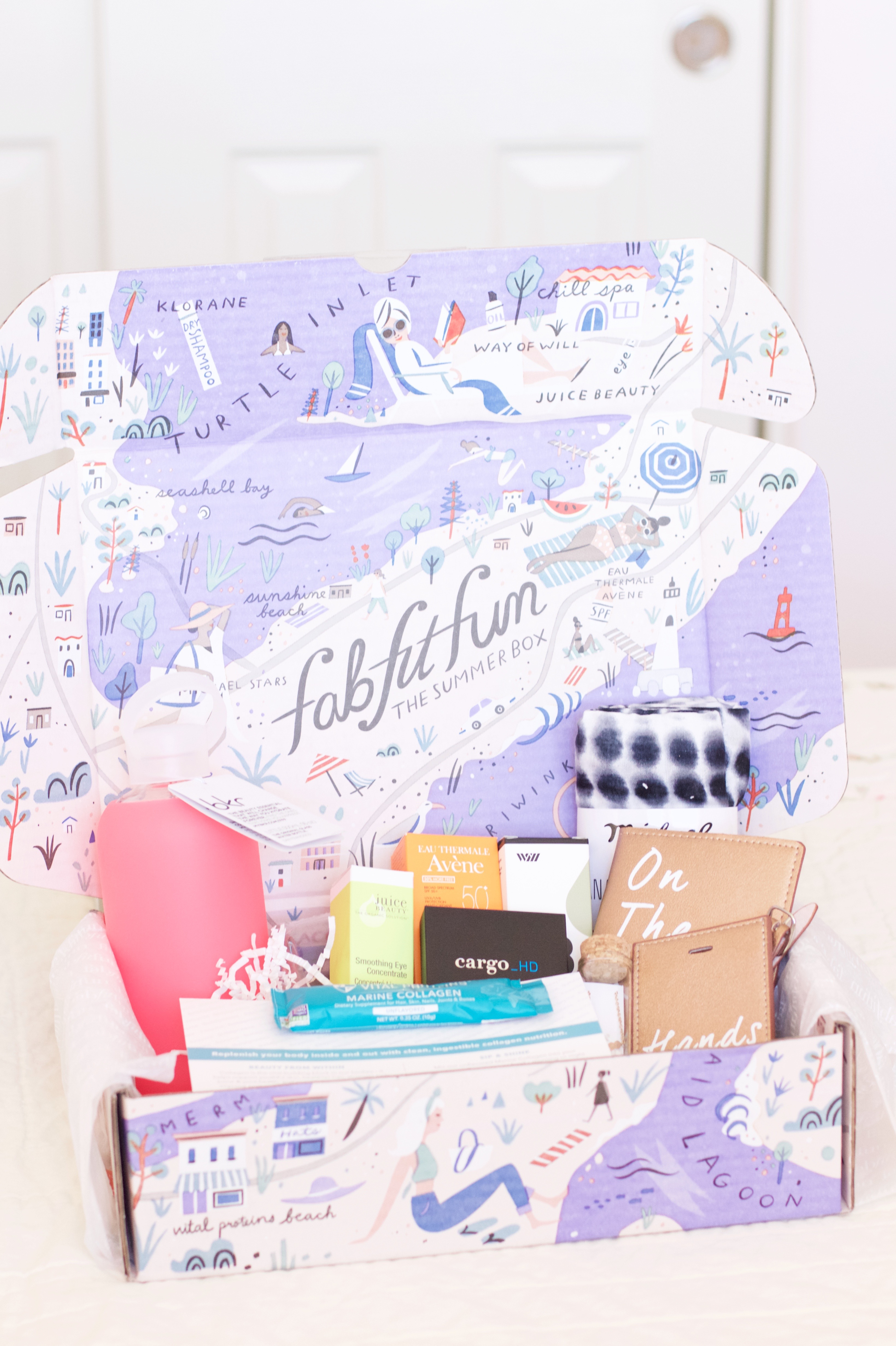 FabFitFun Summer 2017 box review