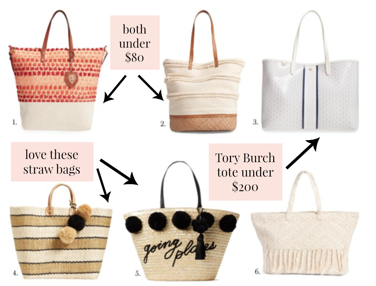 Summer Tote Bags 2017