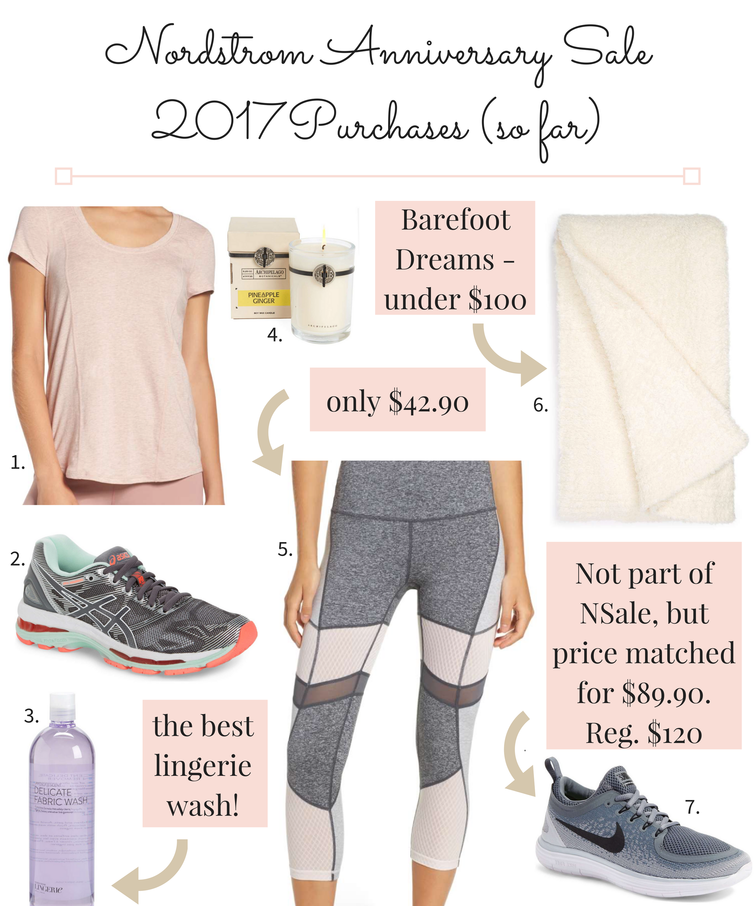 Nordstrom Anniversary Sale 2017 Early Access Purchases