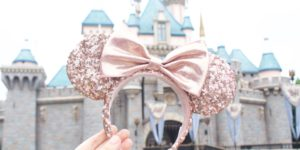 Where to Buy Rose Gold Minnie Mouse Ears at Disneyland