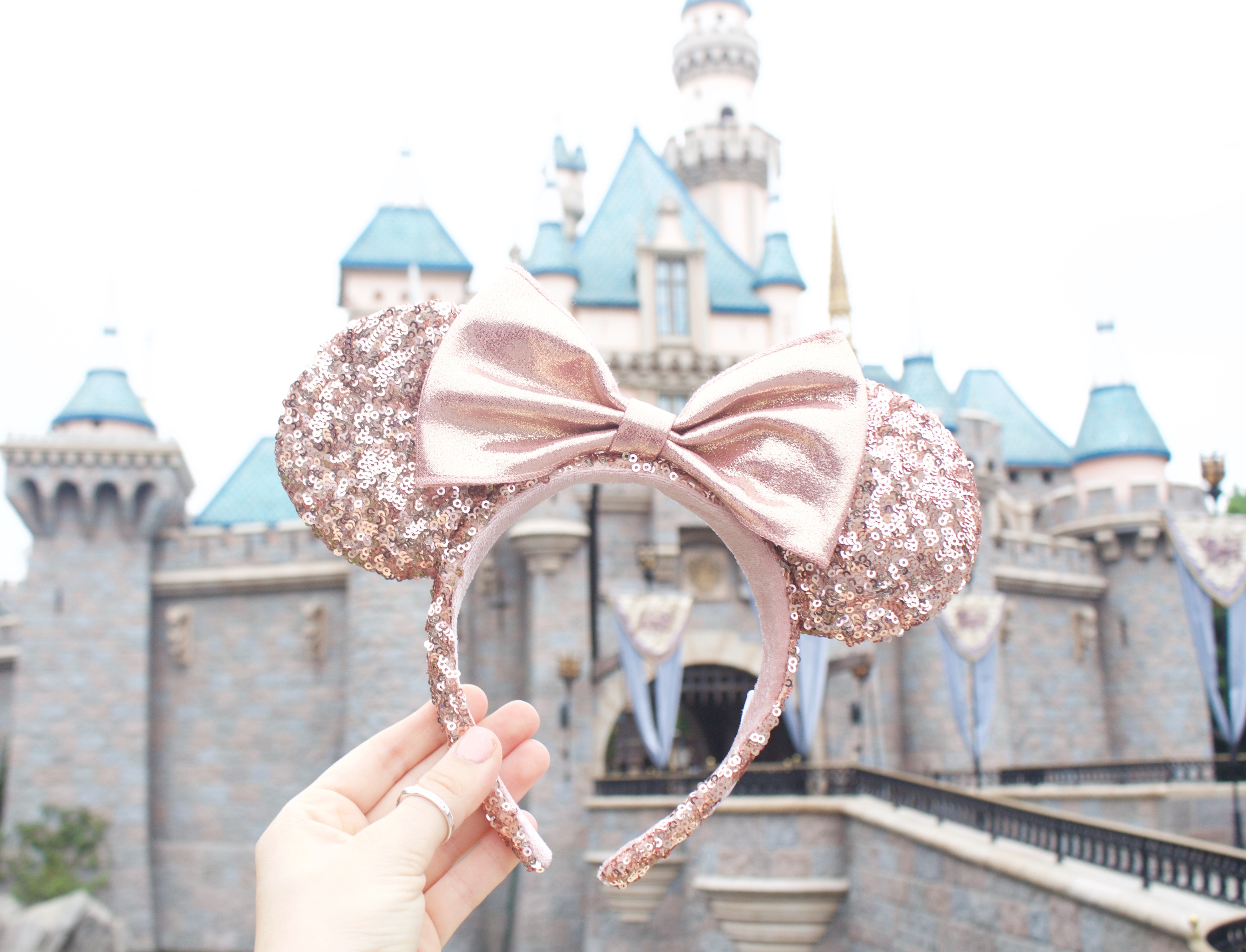 Where To Buy Rose Gold Minnie Mouse Ears At Disneyland My Styled Life