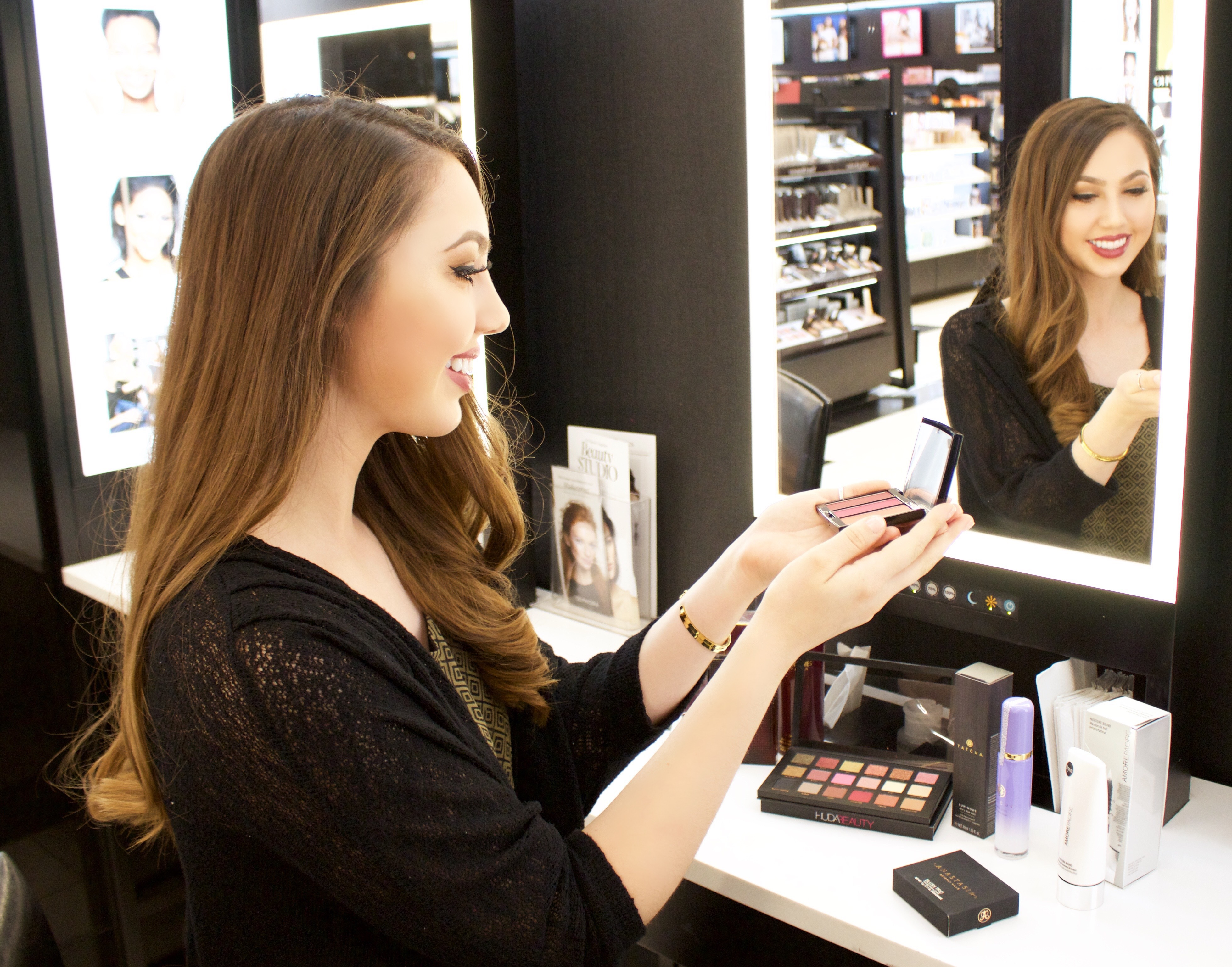 Fall beauty and makeup stores at Brea Mall
