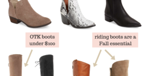 Must-Have Boots + Booties for Fall 2017