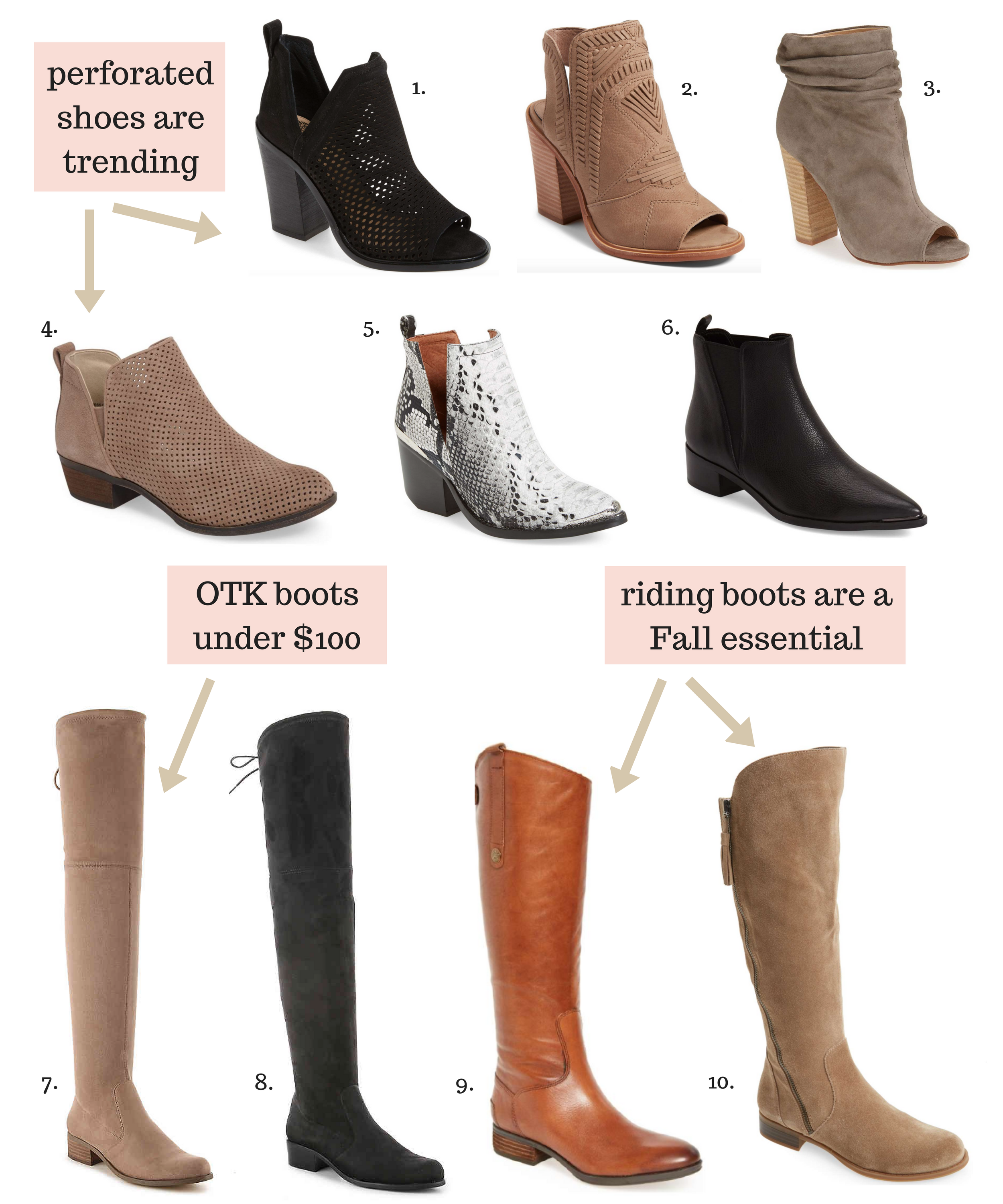Must-Have boots for fall 2017