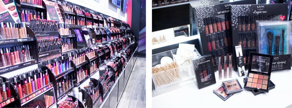 NYX store Brea Mall fall beauty products