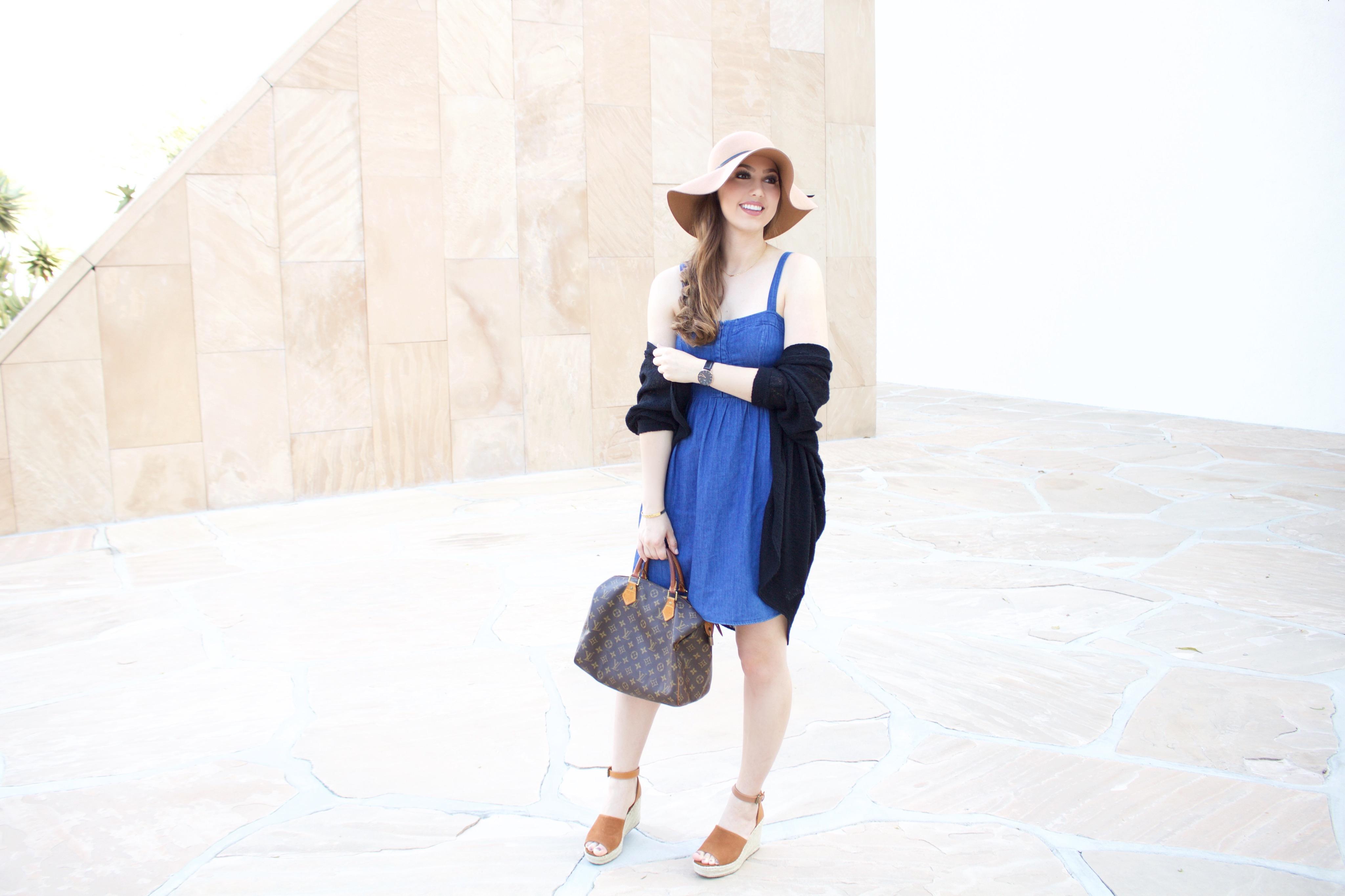 denim dress for fall