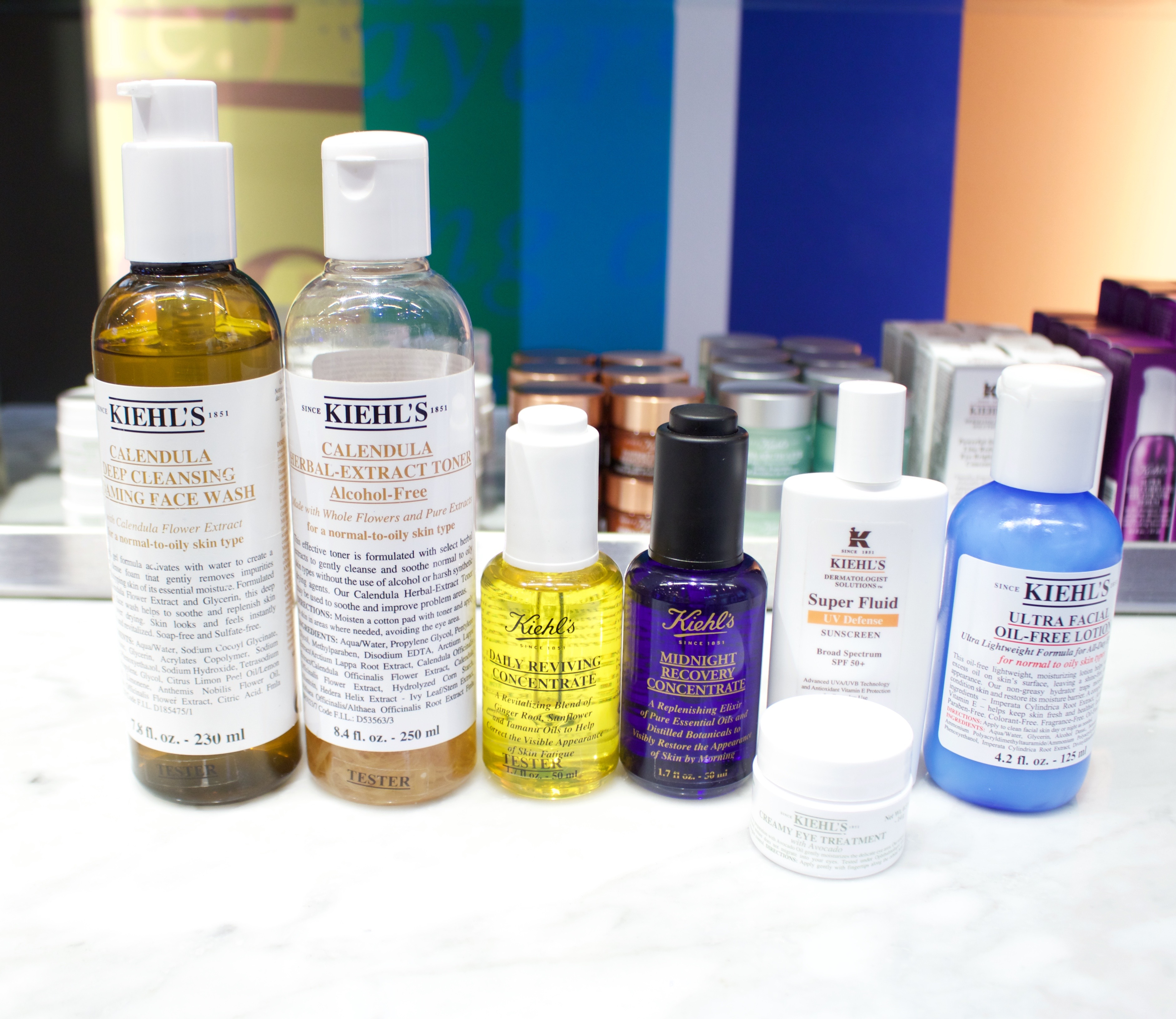 the best kiehl's skincare products
