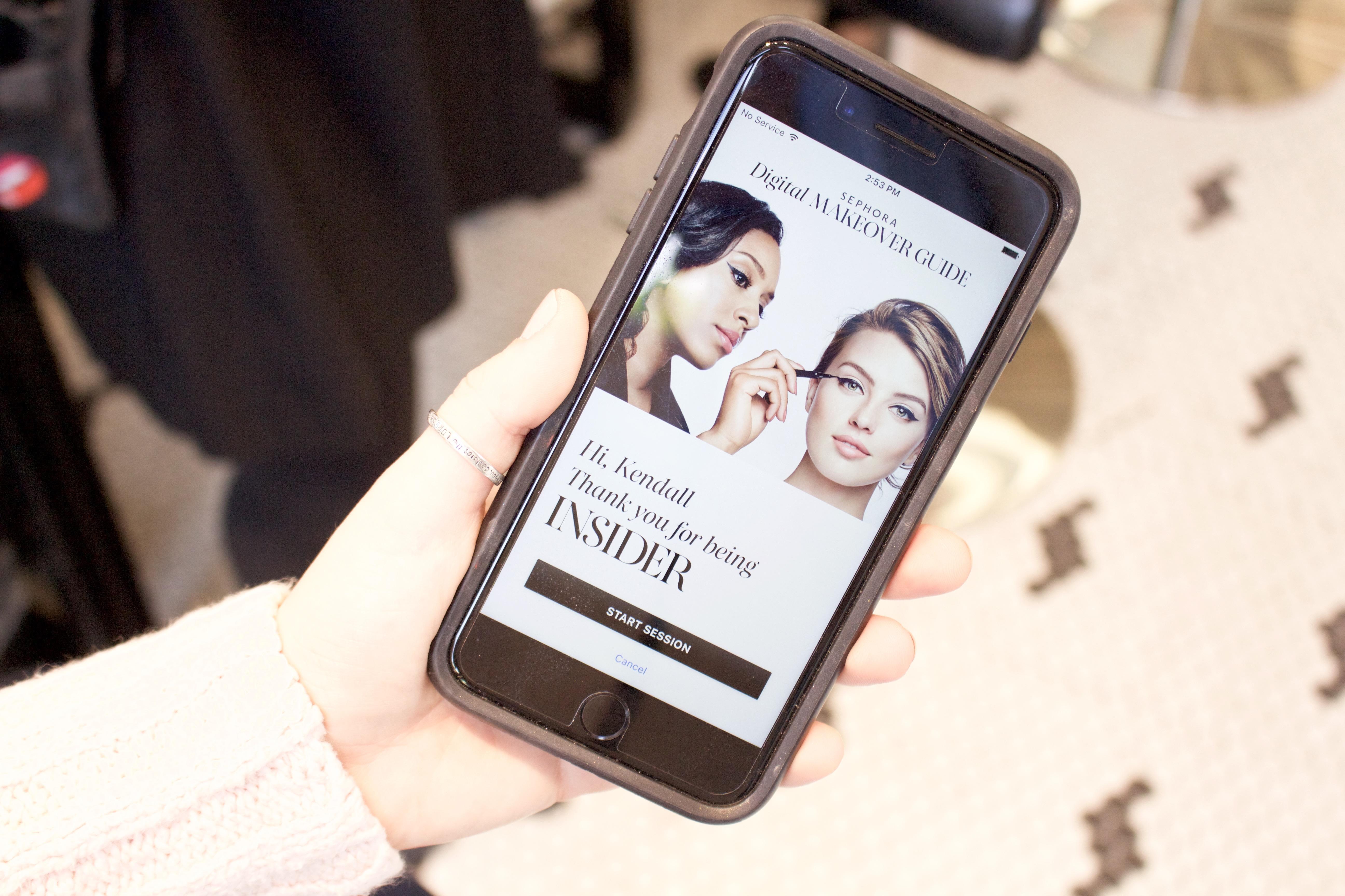 Sephora Digital Makeover Guide