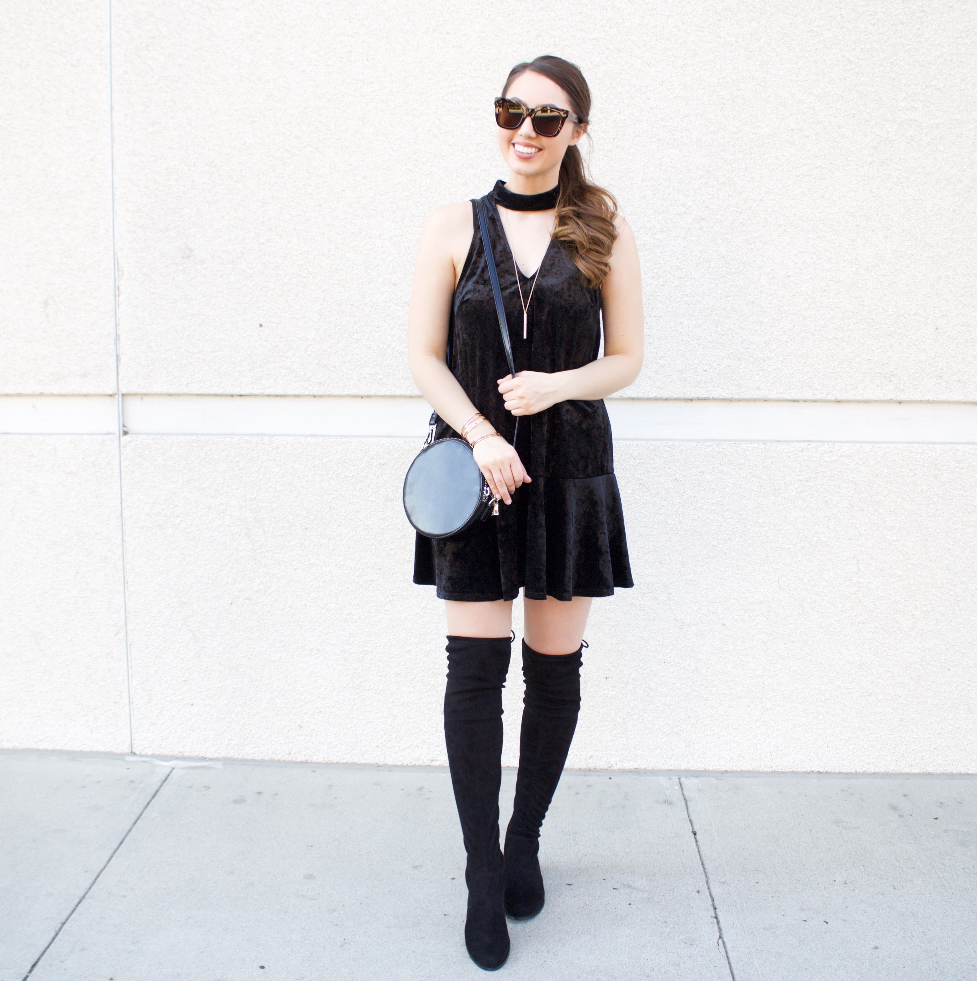dressy holiday outfit