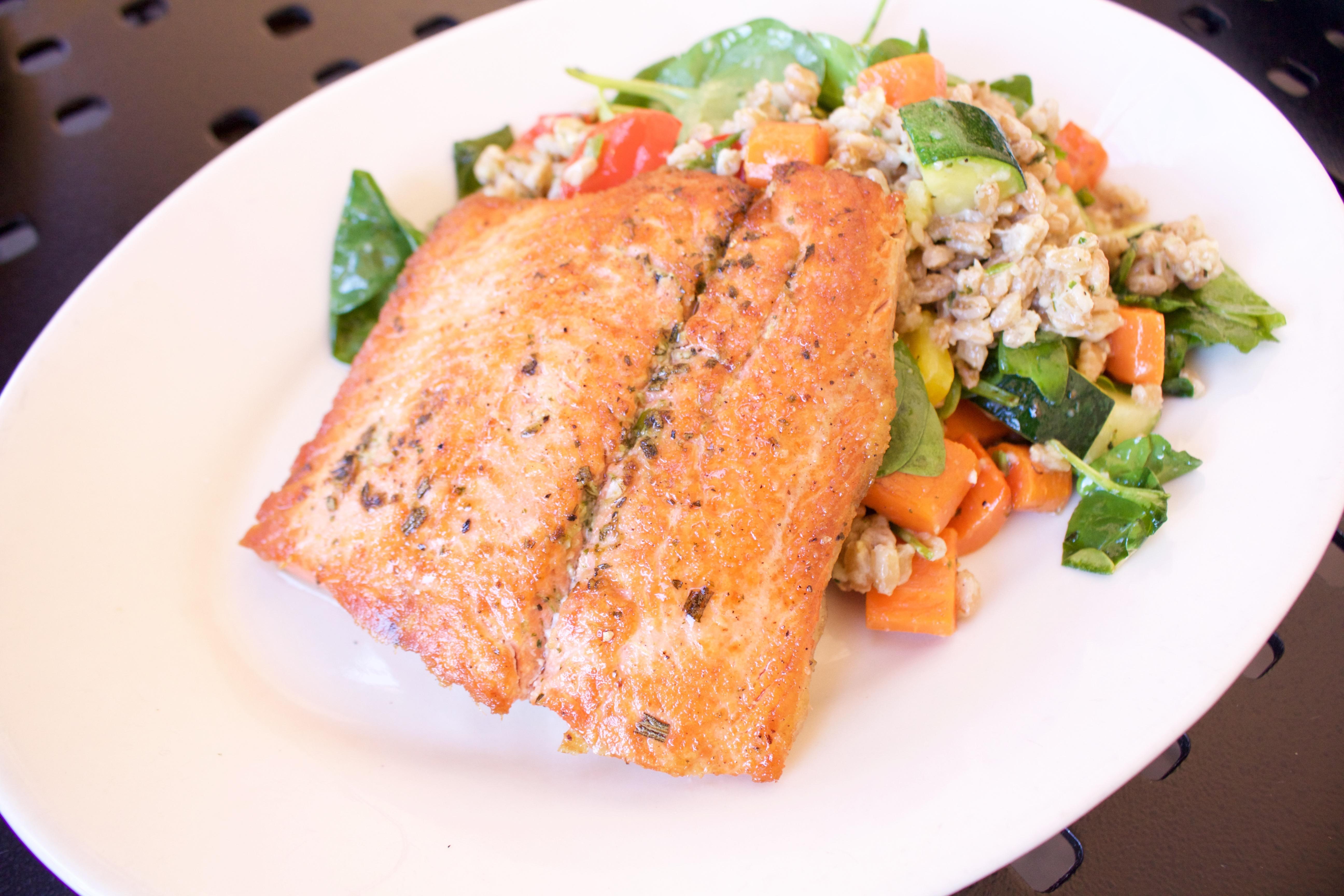 salmon Nordstrom cafe brea mall
