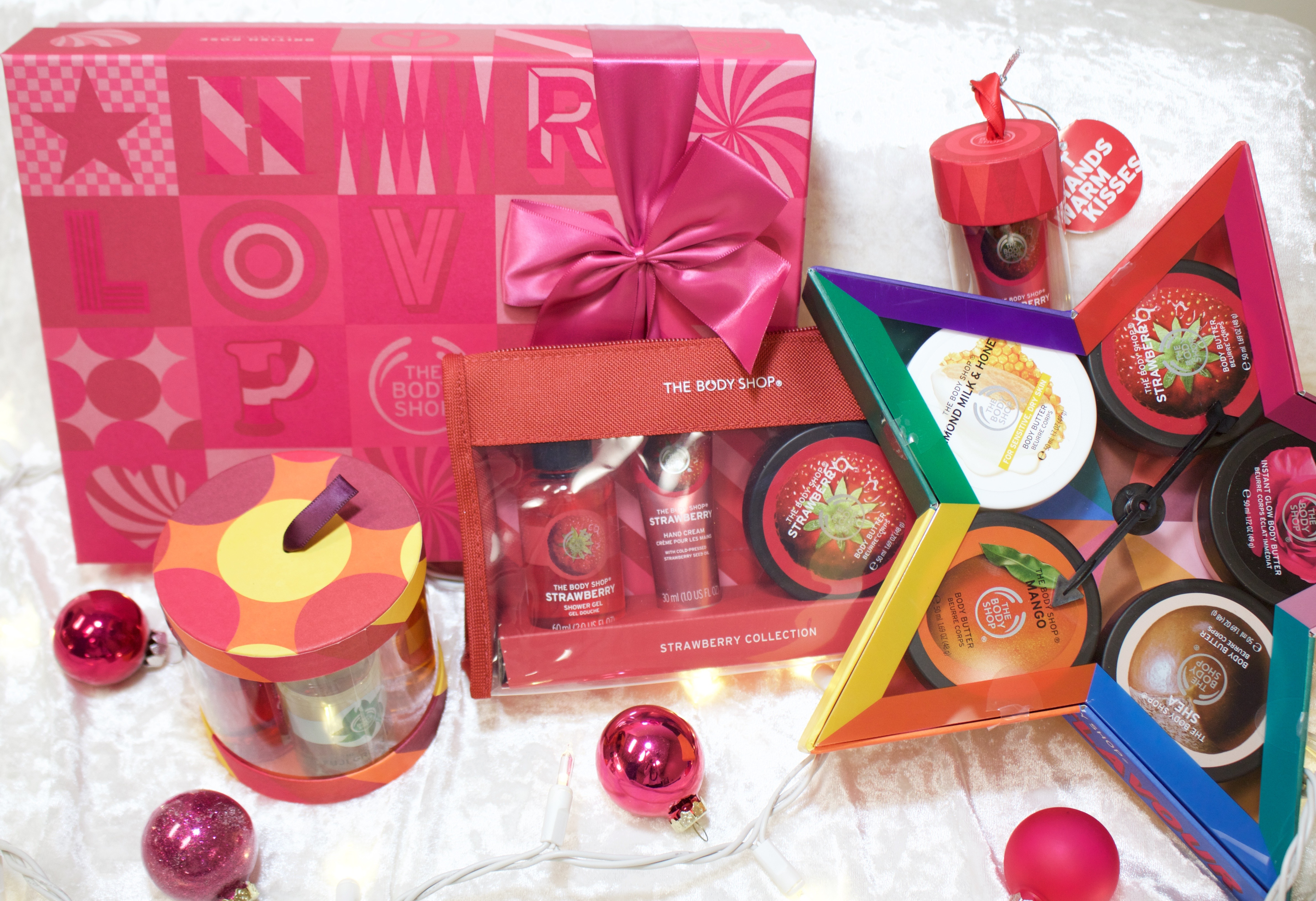 The Body Shop christmas gift ideas
