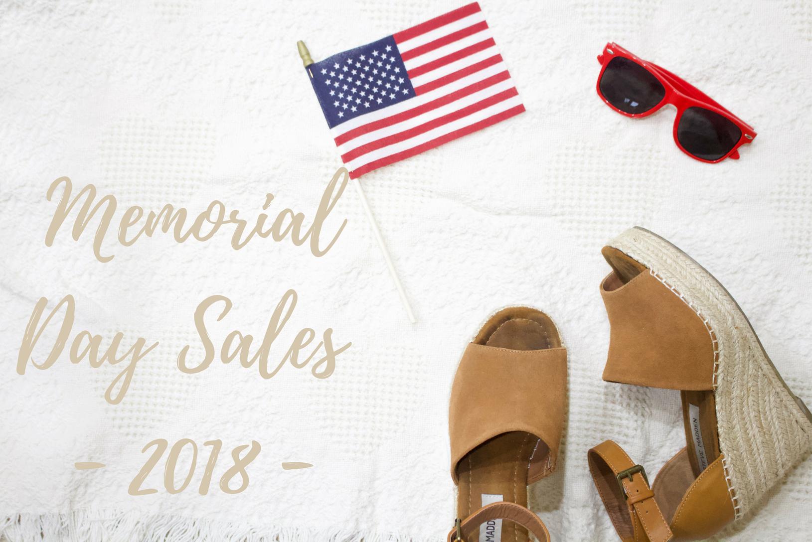 Memorial Day Sales 2018