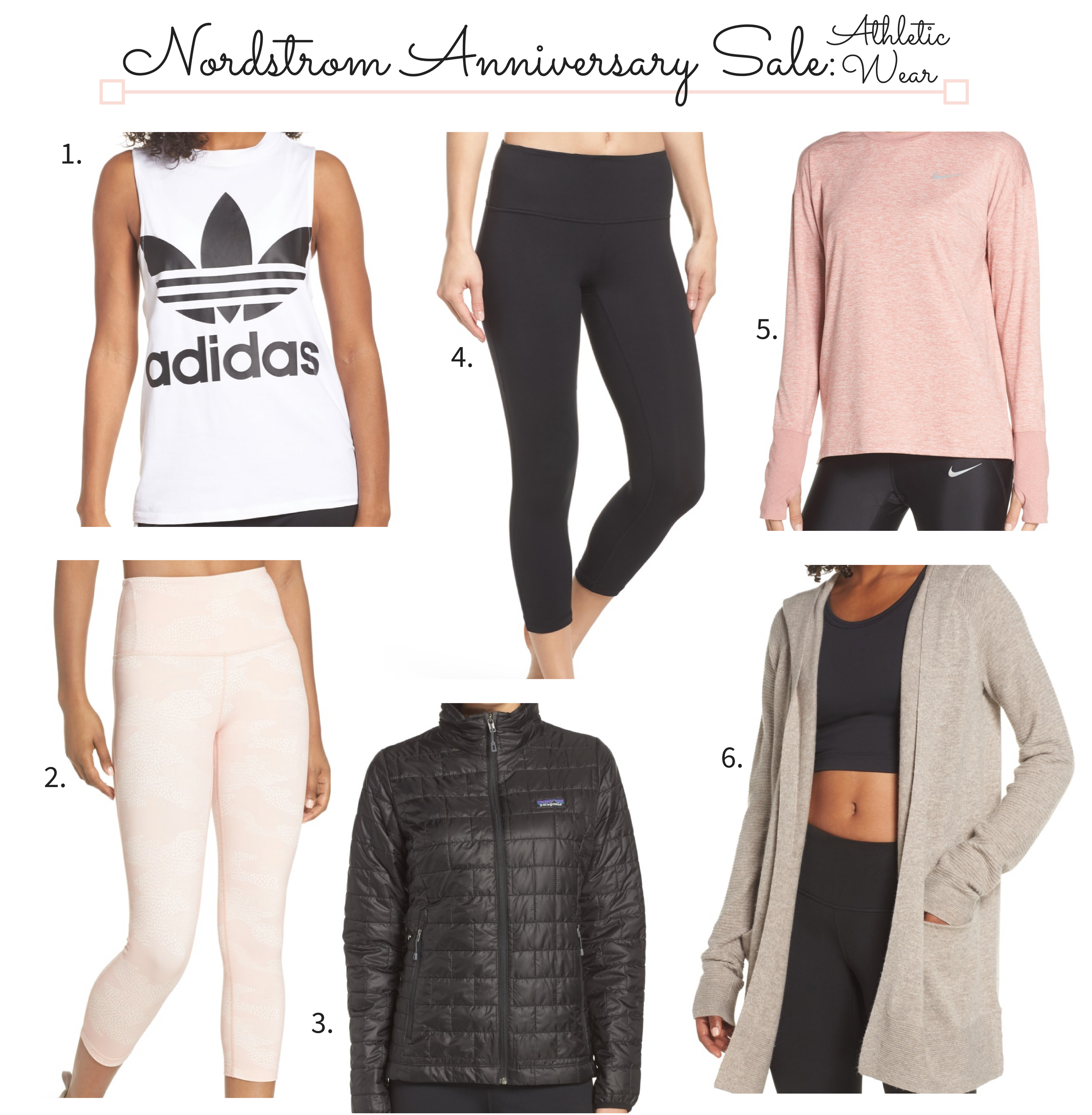 Nordstrom Anniversary Sale 2018 Athletic Wear