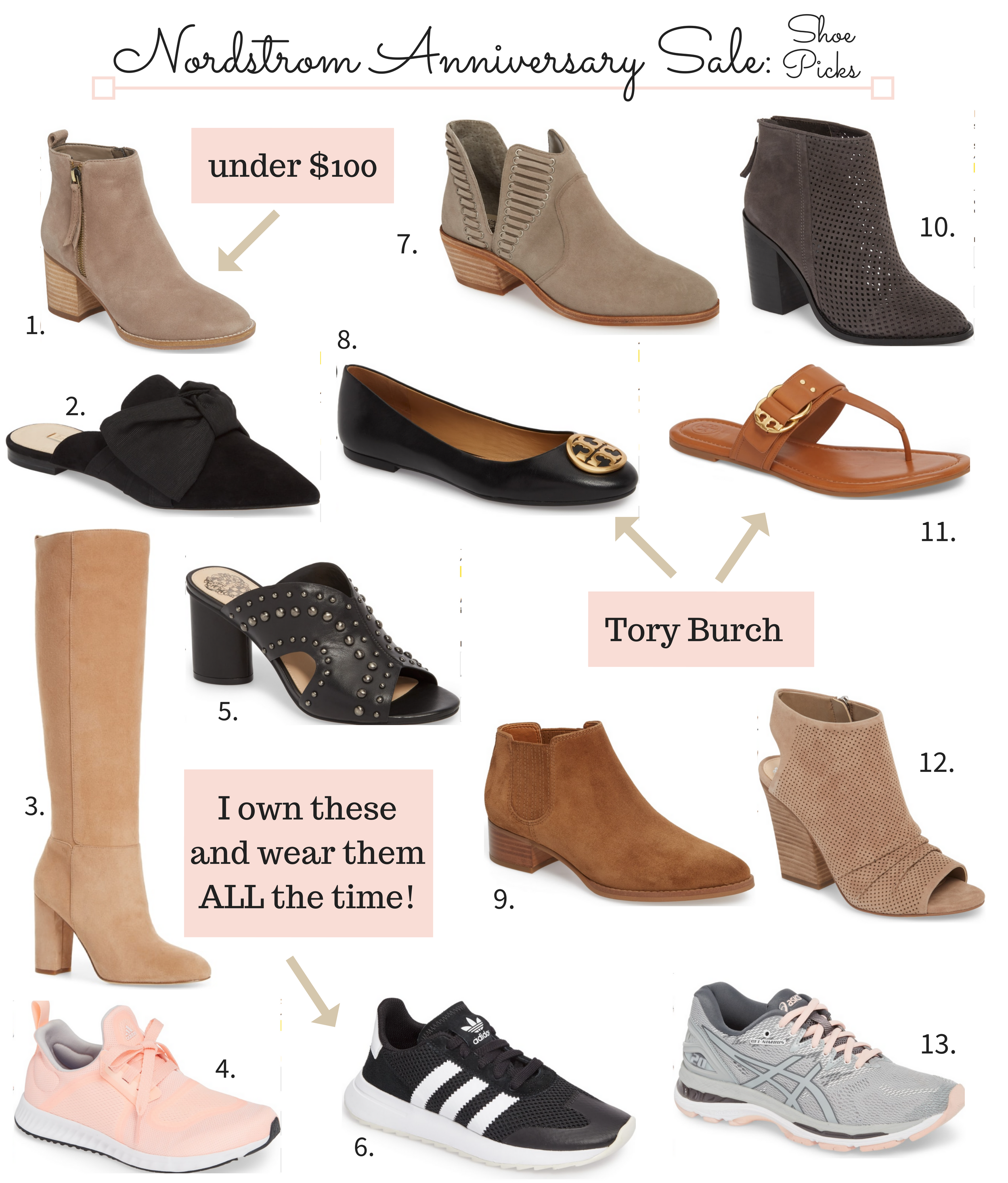 Nordstrom Anniversary Sale 2018 Shoes